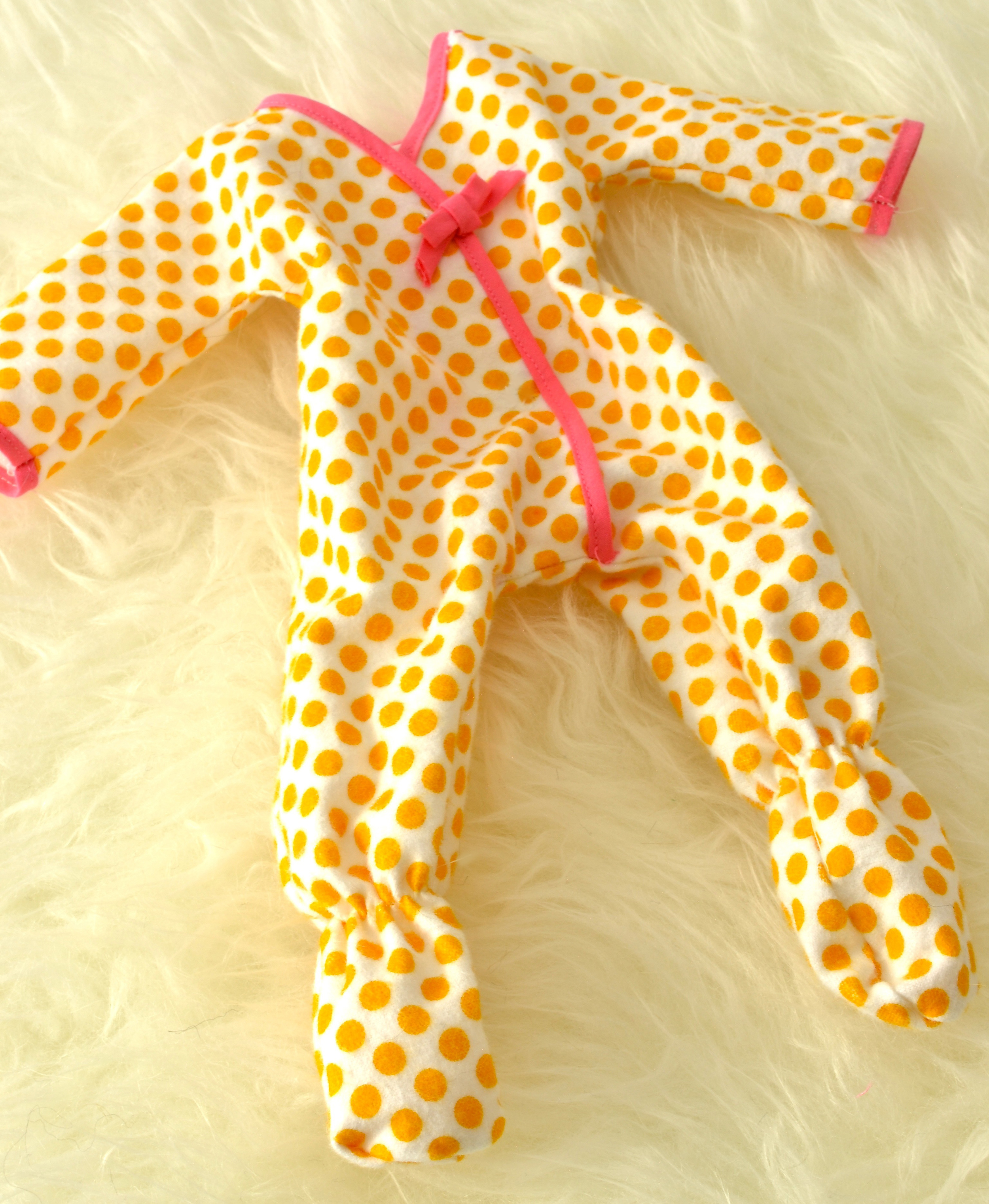 PJs for Curly haired Egg