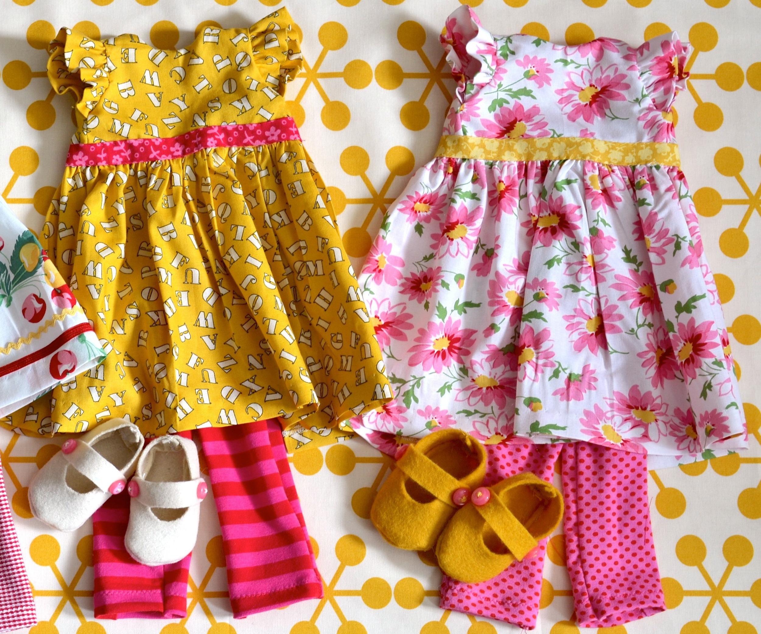 How to make Bias Trim for Doll Dresses