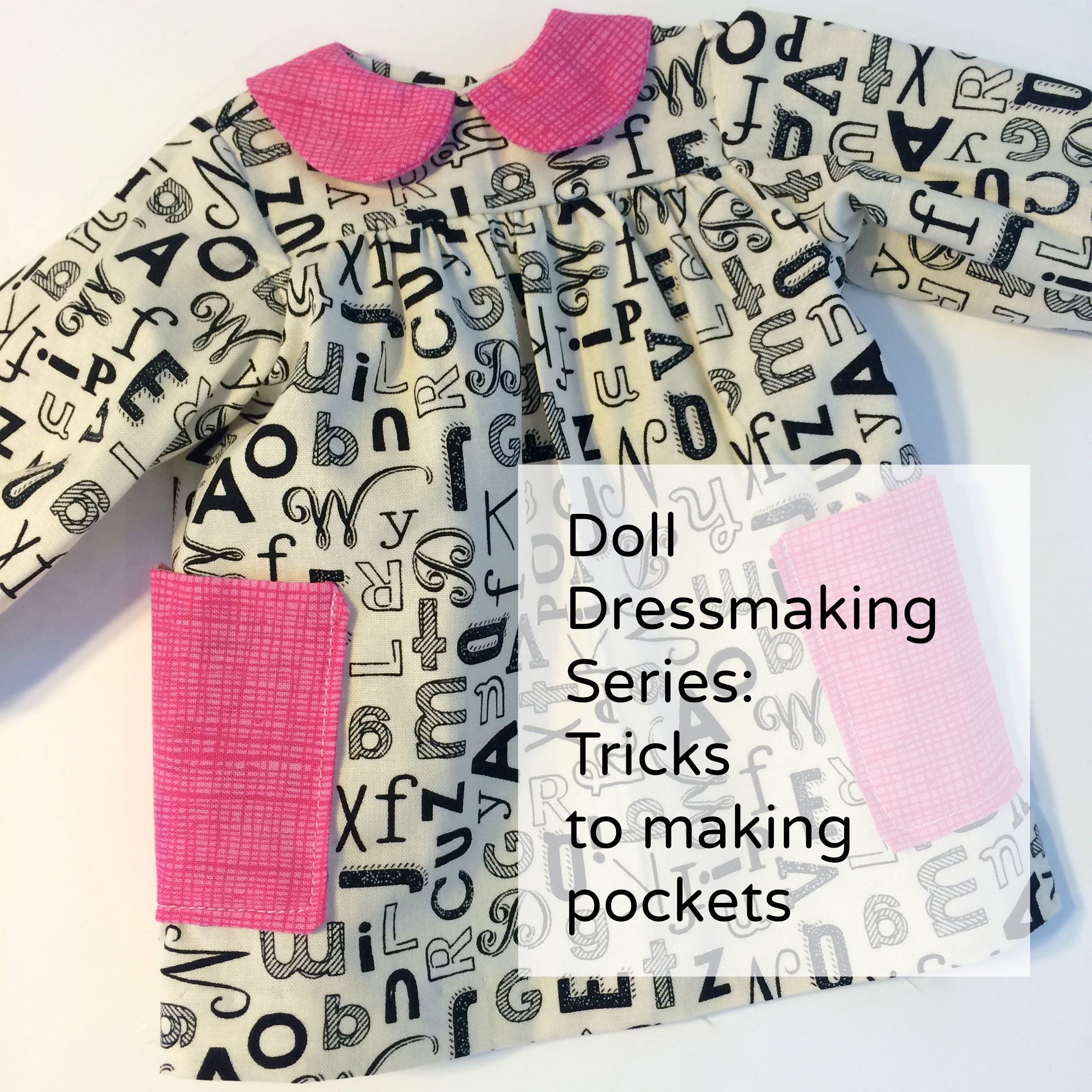 Doll Dressmaking: Pockets