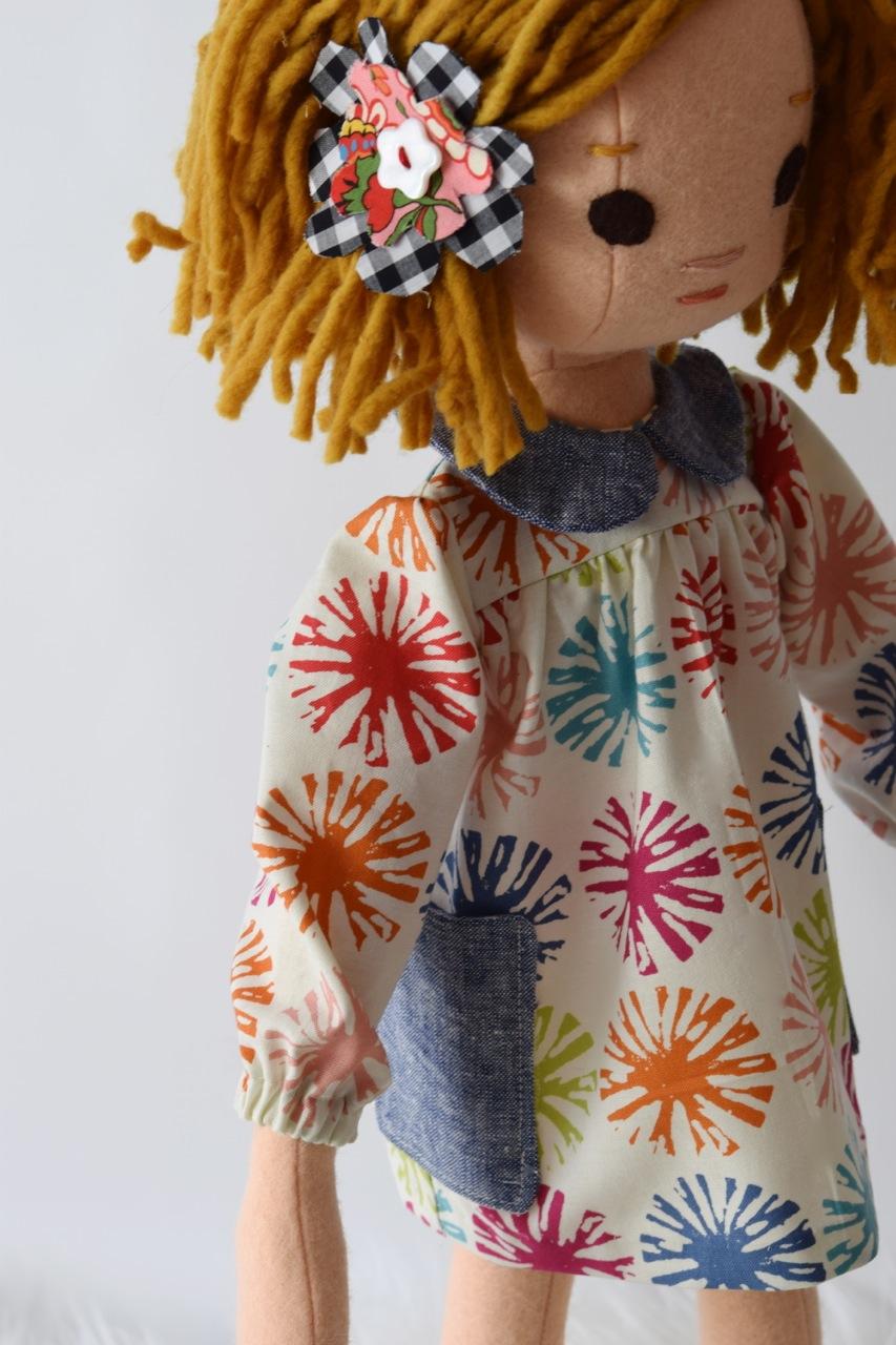 New handmade doll dress