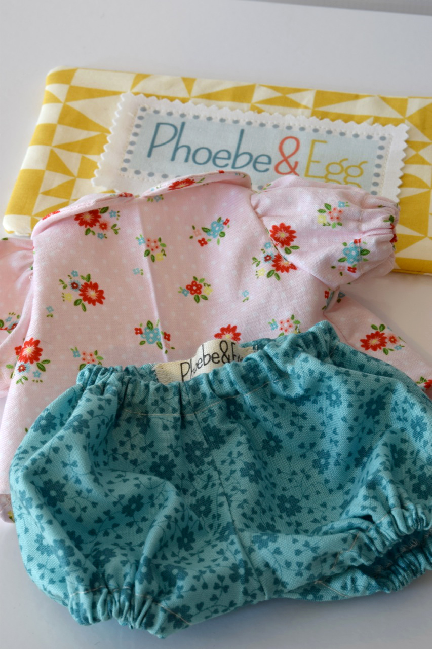 One of the Baby Egg clothes sets