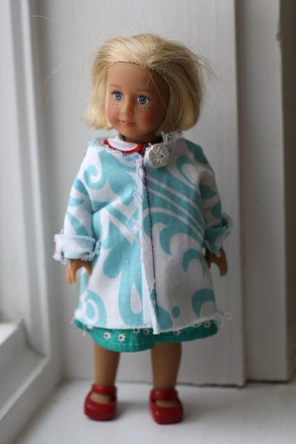 Mini American Girl Doll