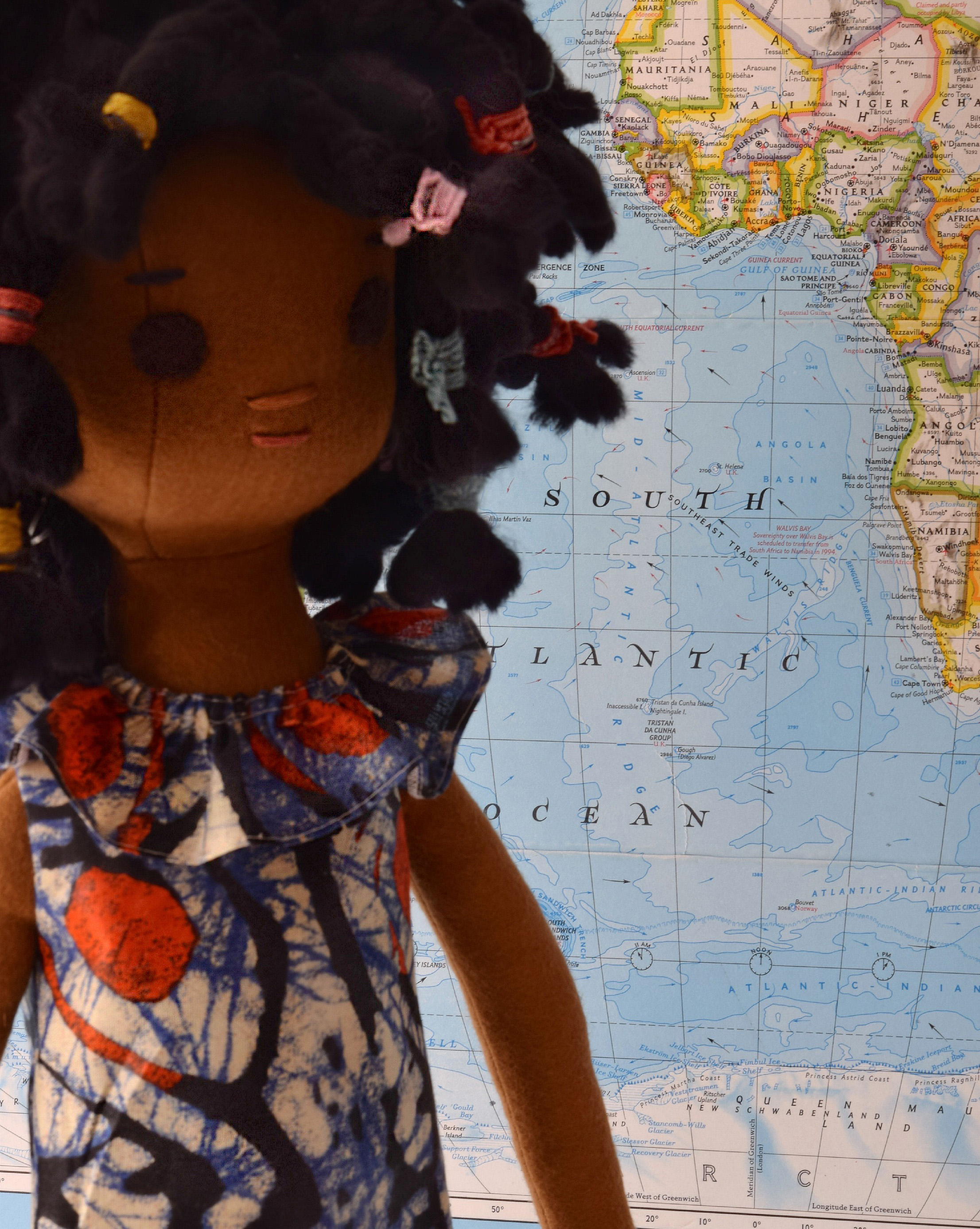 Doll Dress from Liberia
