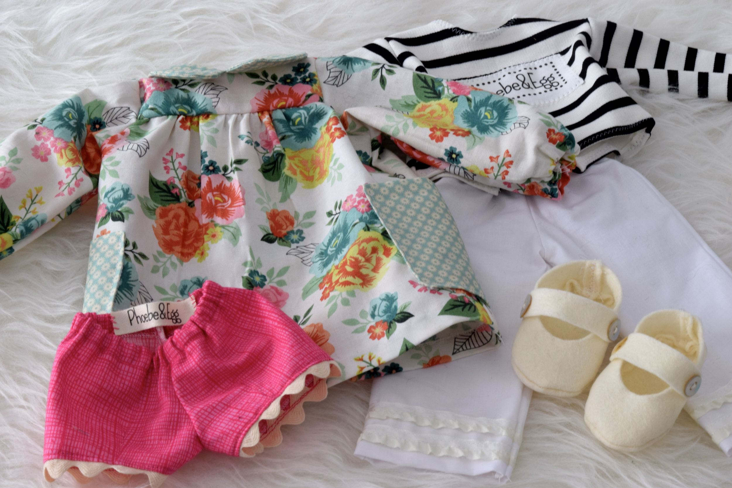 New spring doll clothes
