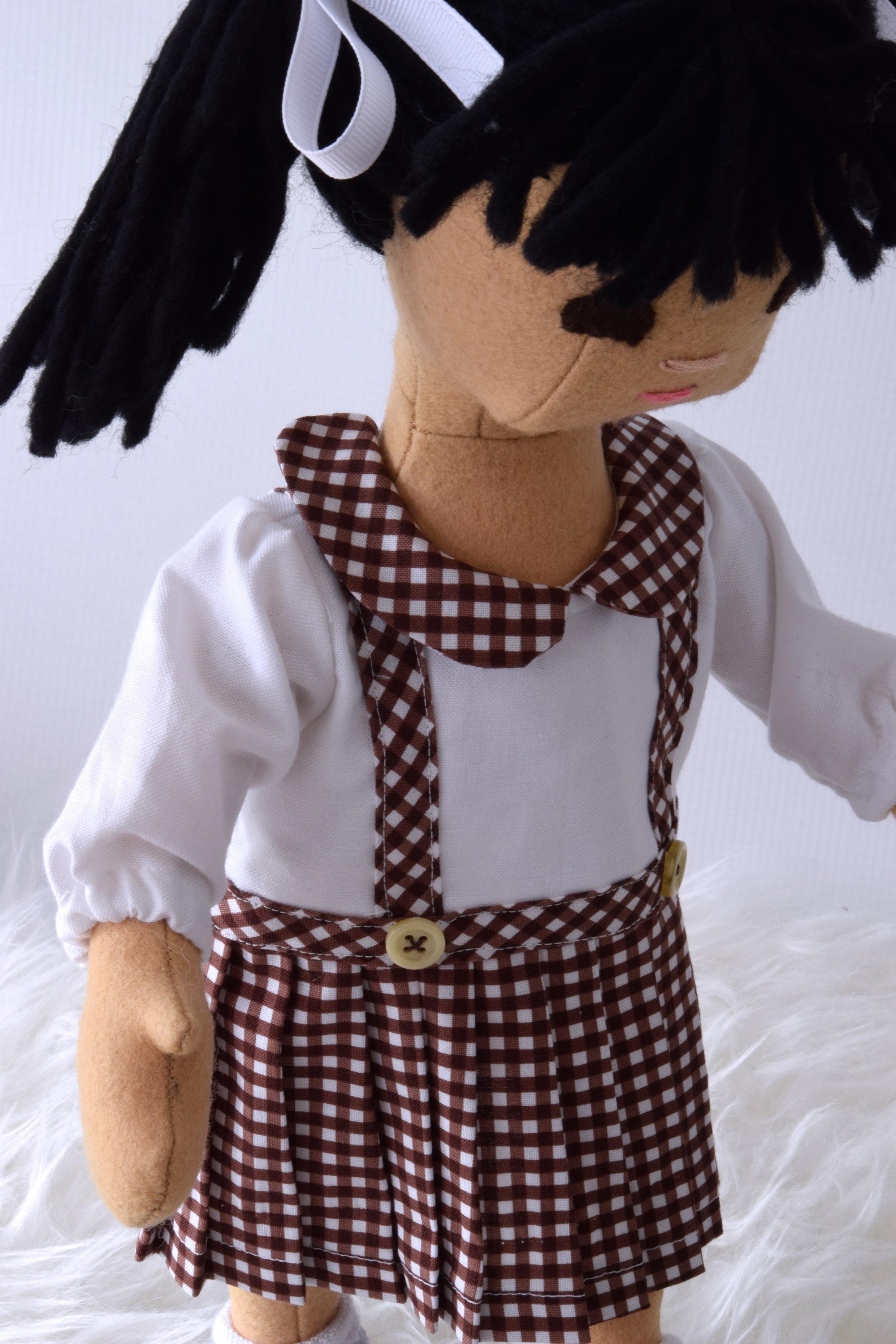 Custom toddler doll