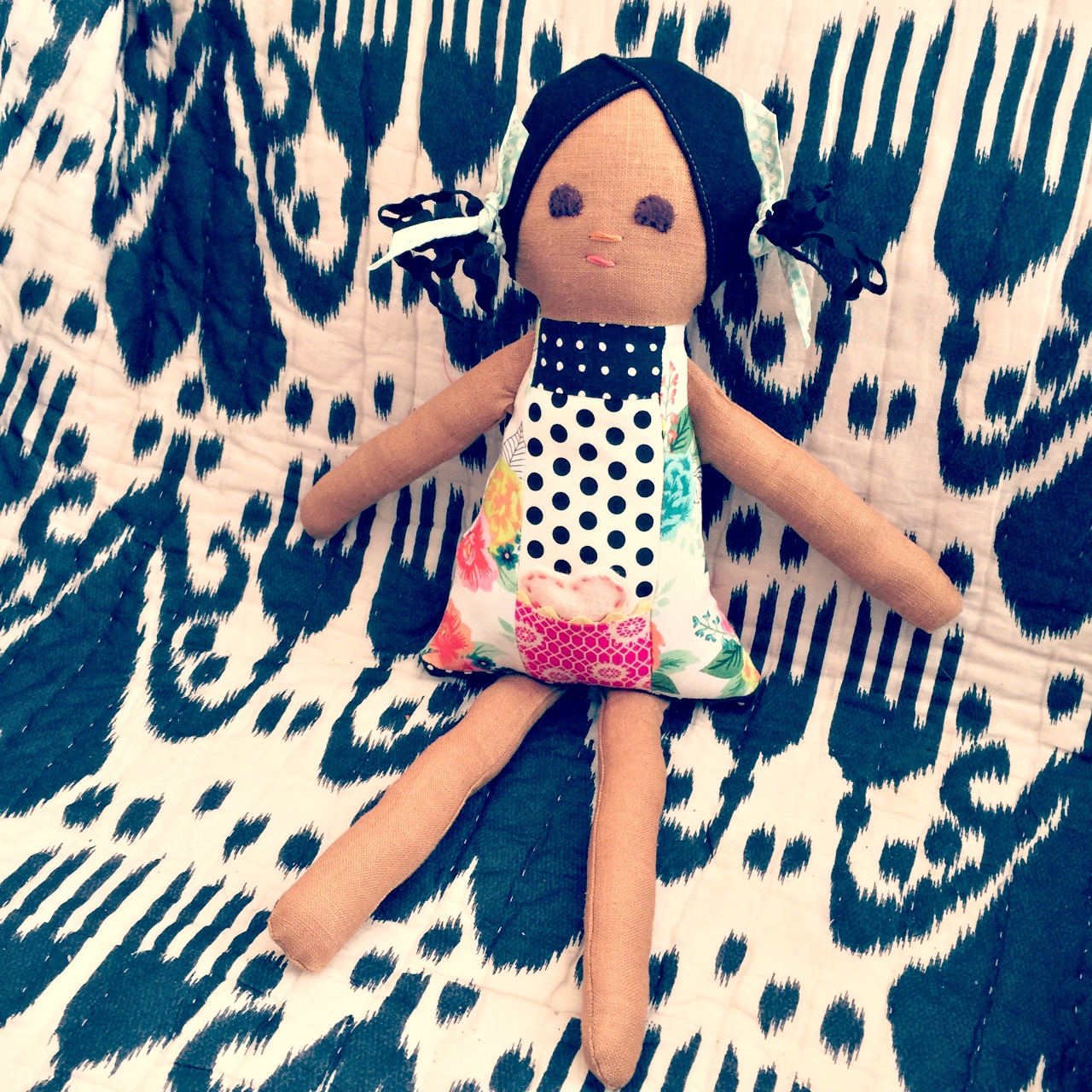 Sewing Smiles doll