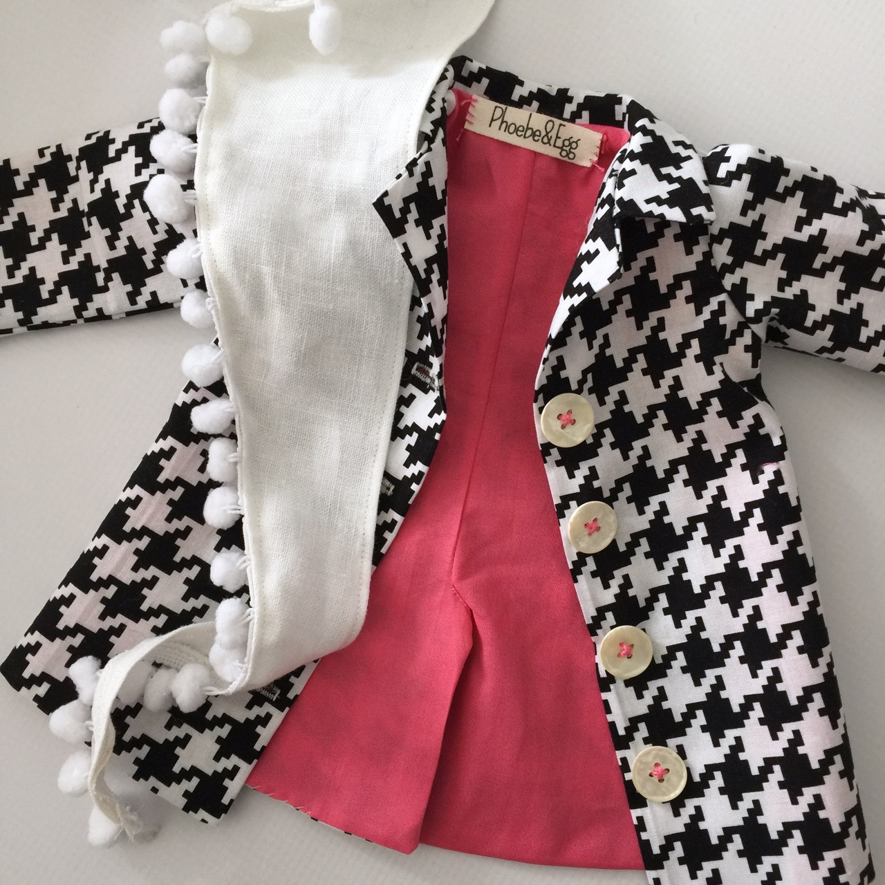 Doll trench coat