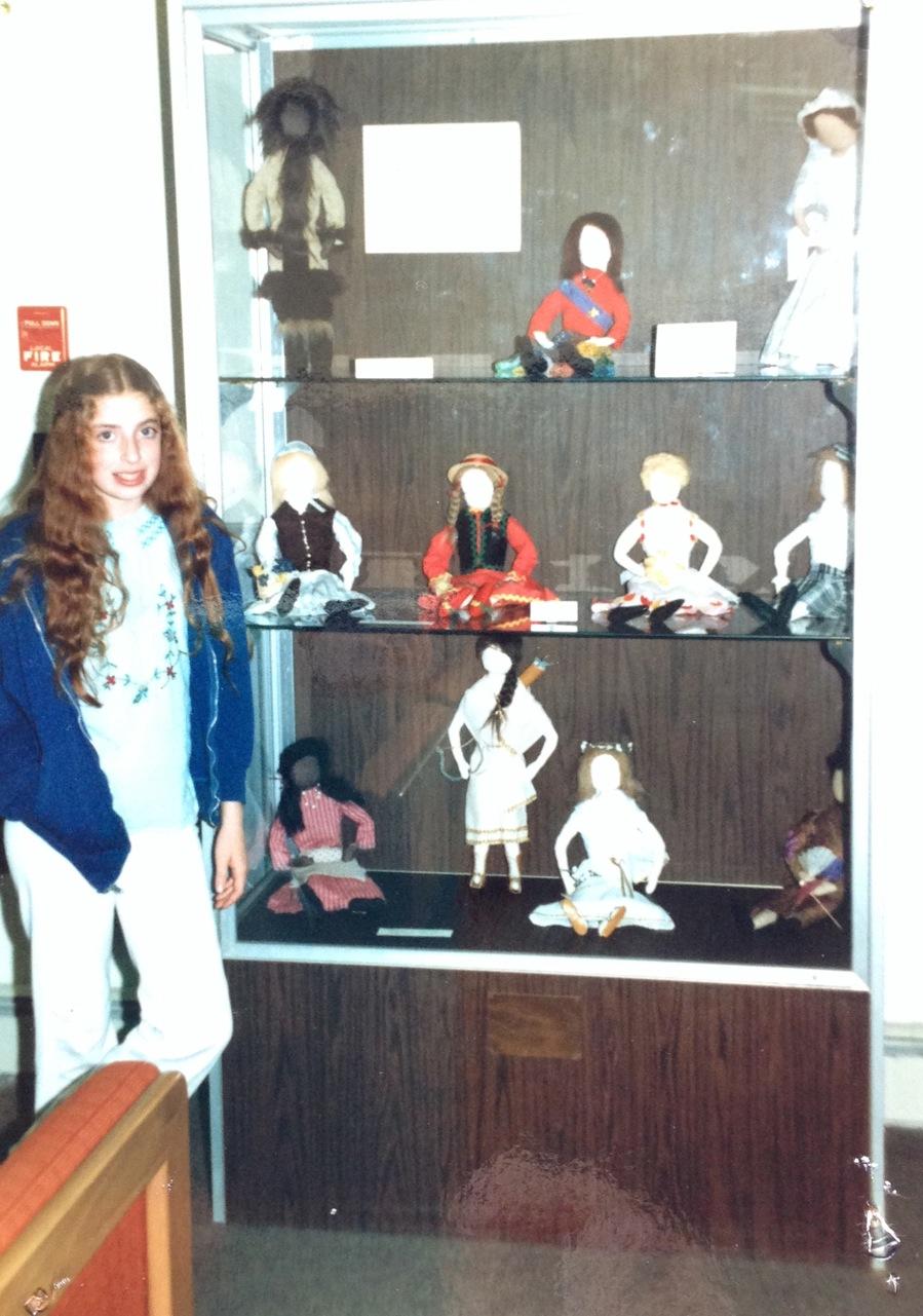 Deborah's Childhood Dolls