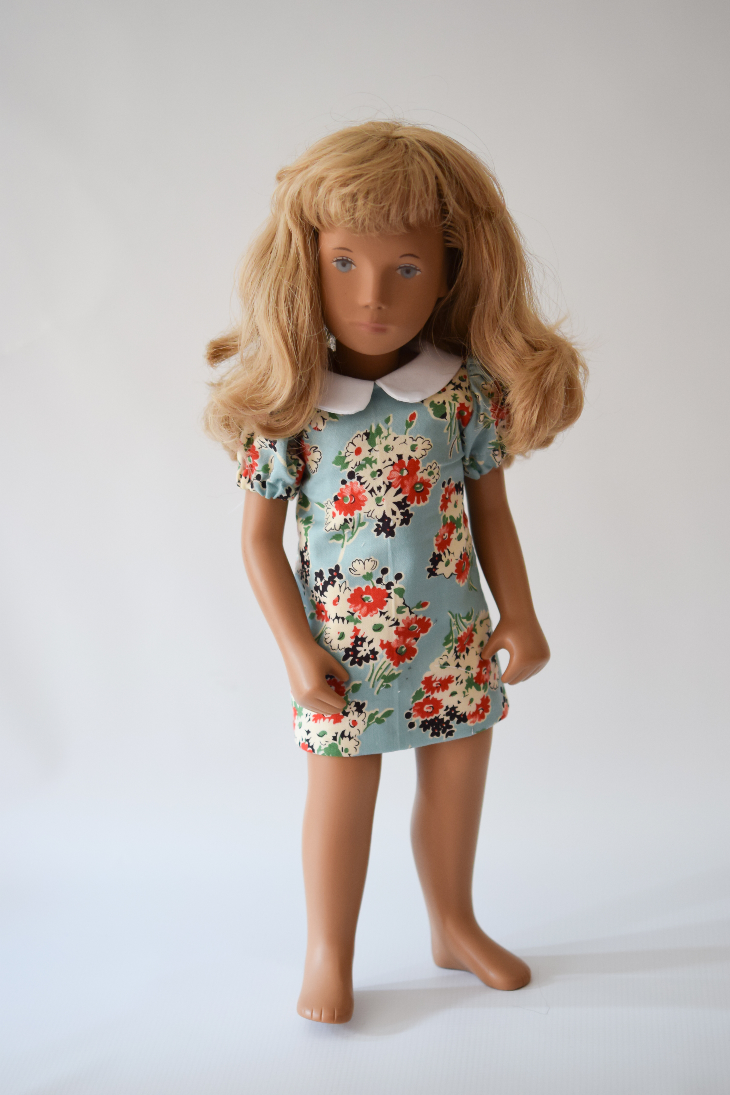 One of the many dresses you can create with the pattern set