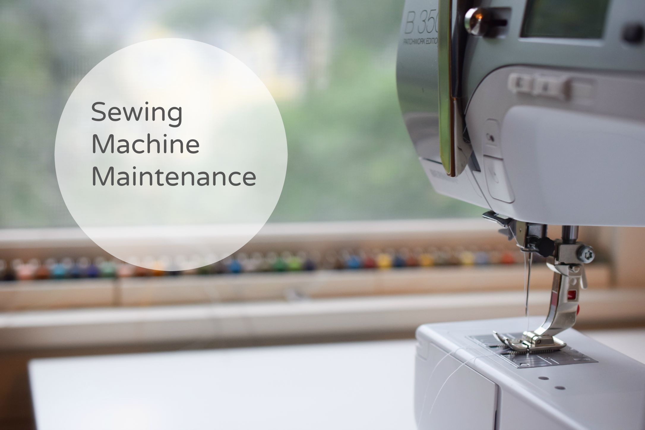 Cleaning your sewing machine