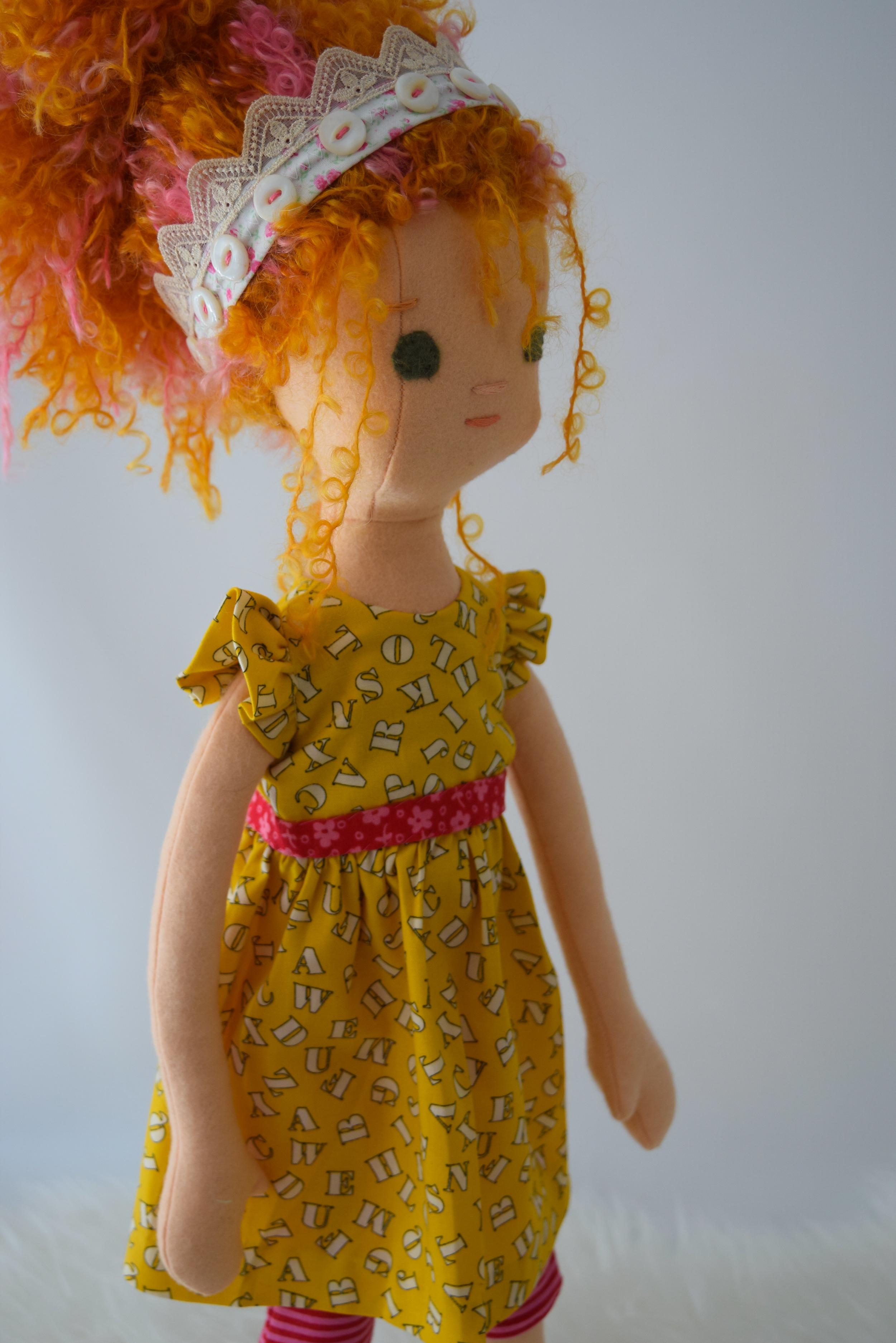 Fancy Nancy the Rag Doll