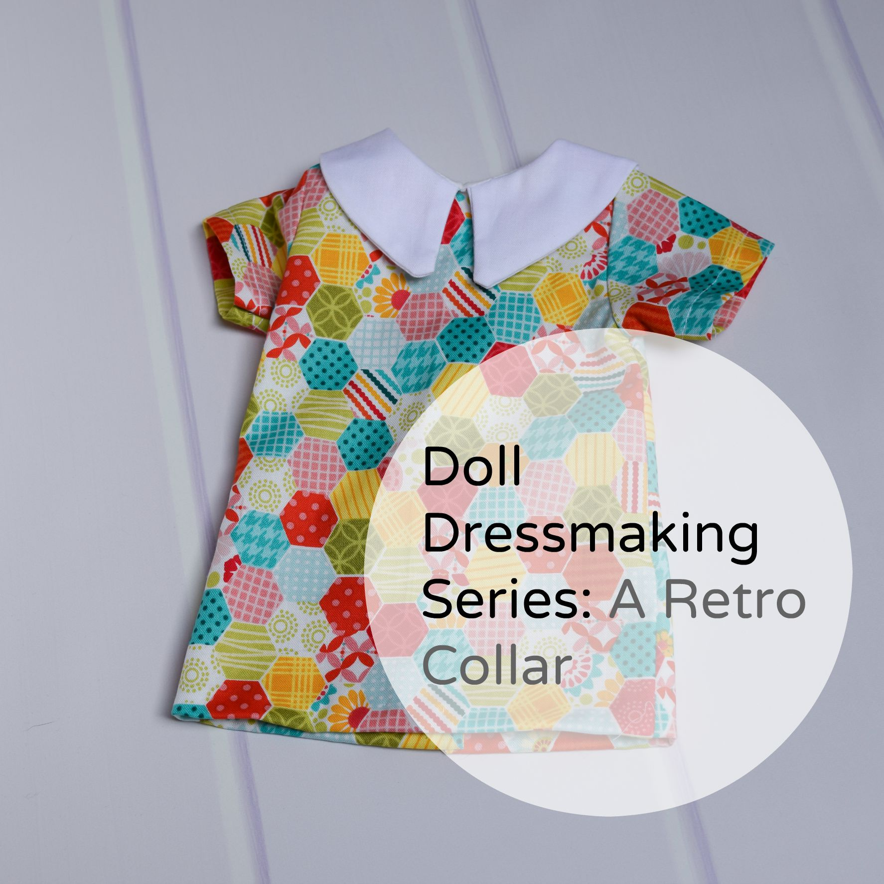 Doll Dressmaking Retro Dress
