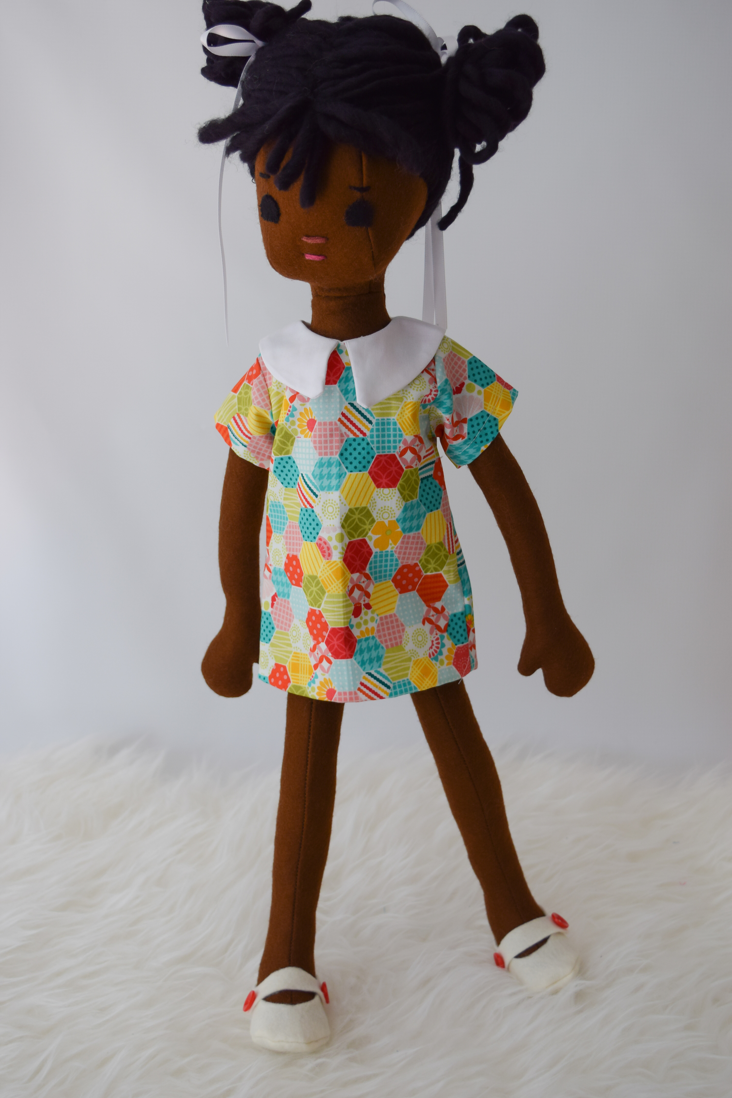 Retro doll dress