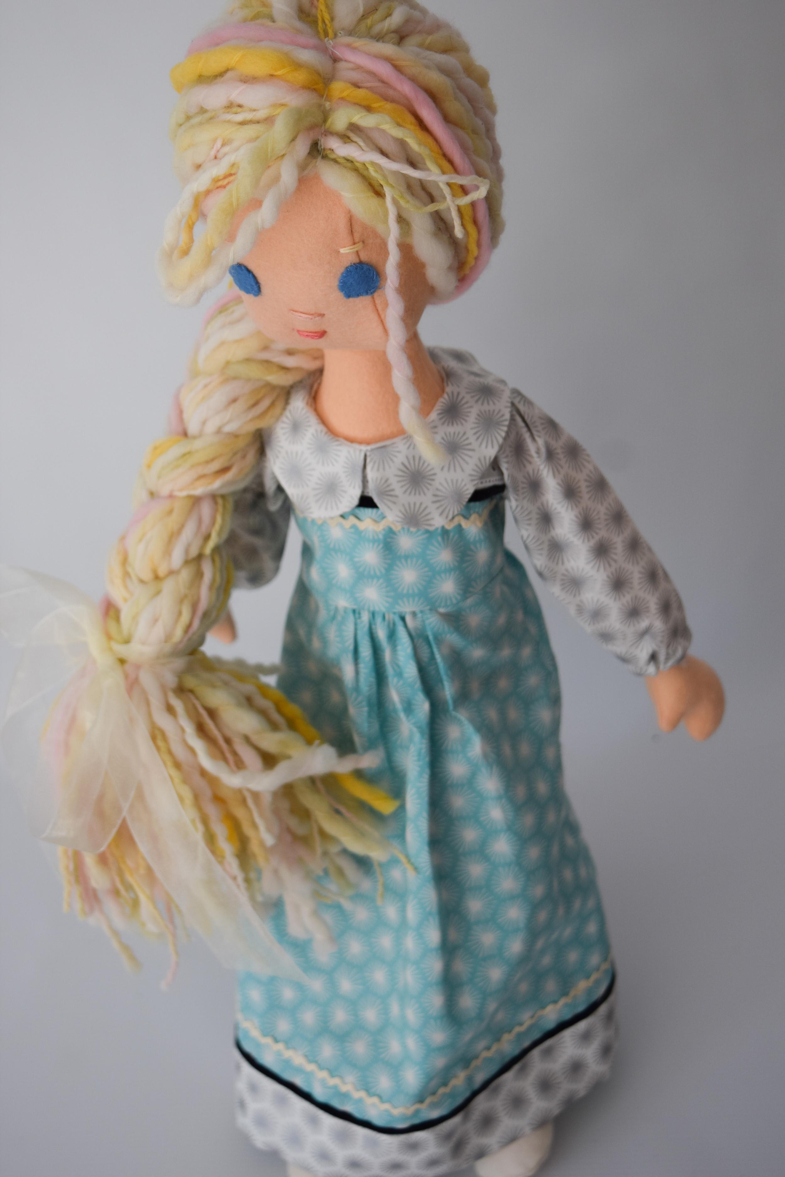Handmade Elsa Doll
