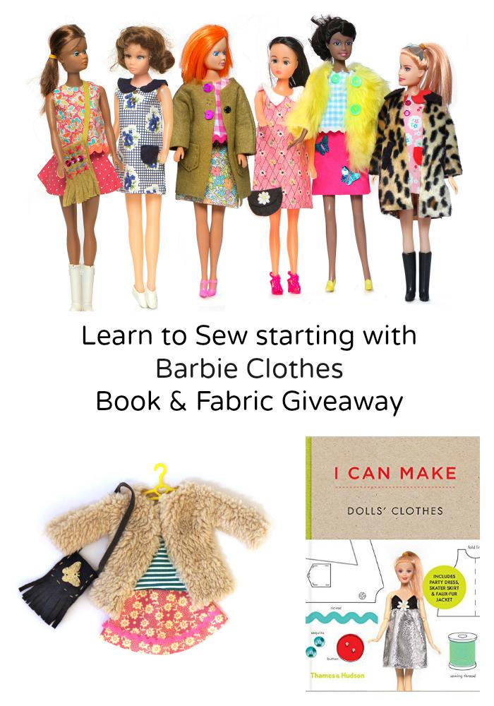 Barbie Sewing Book Giveaway