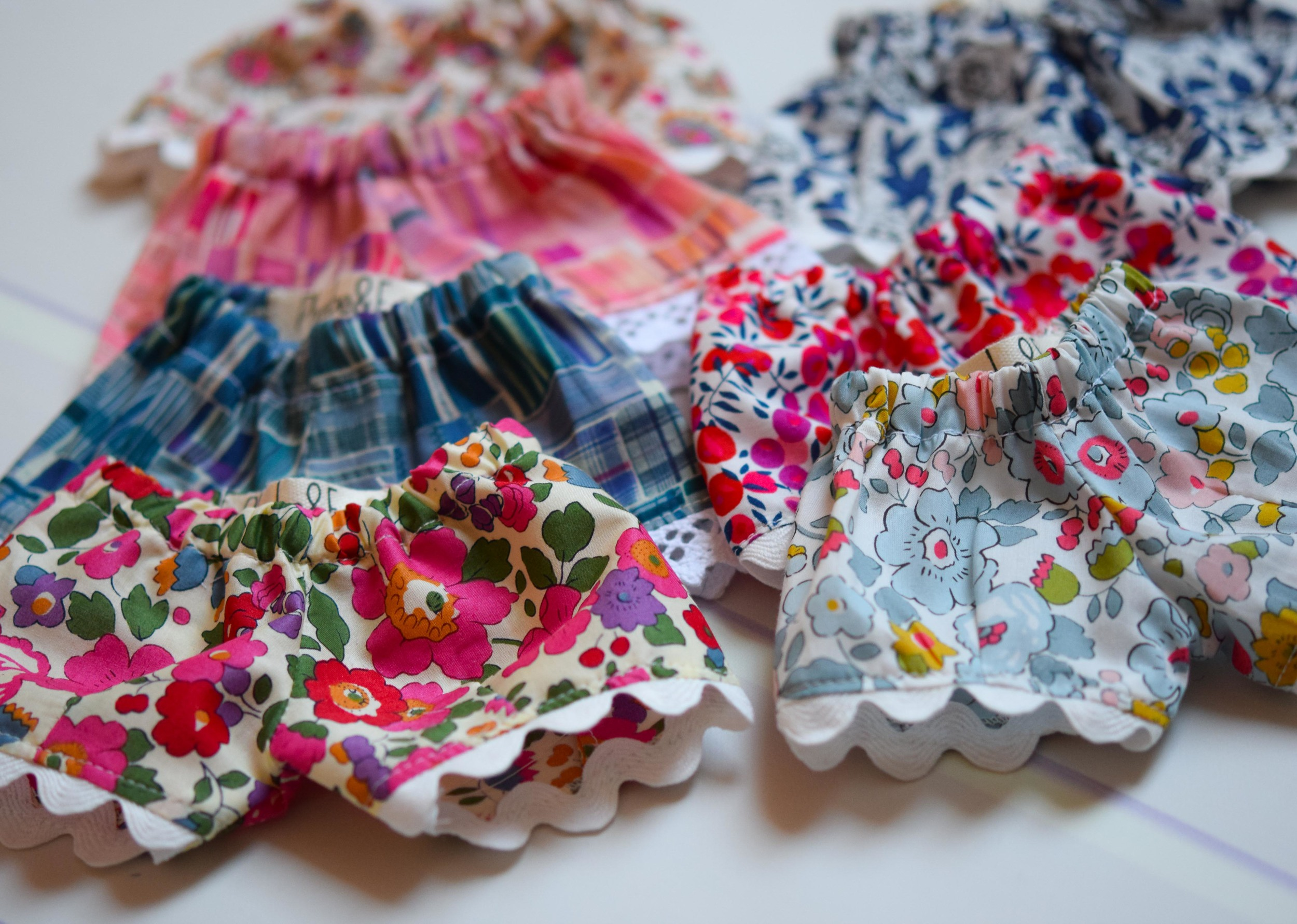 Matching bloomers