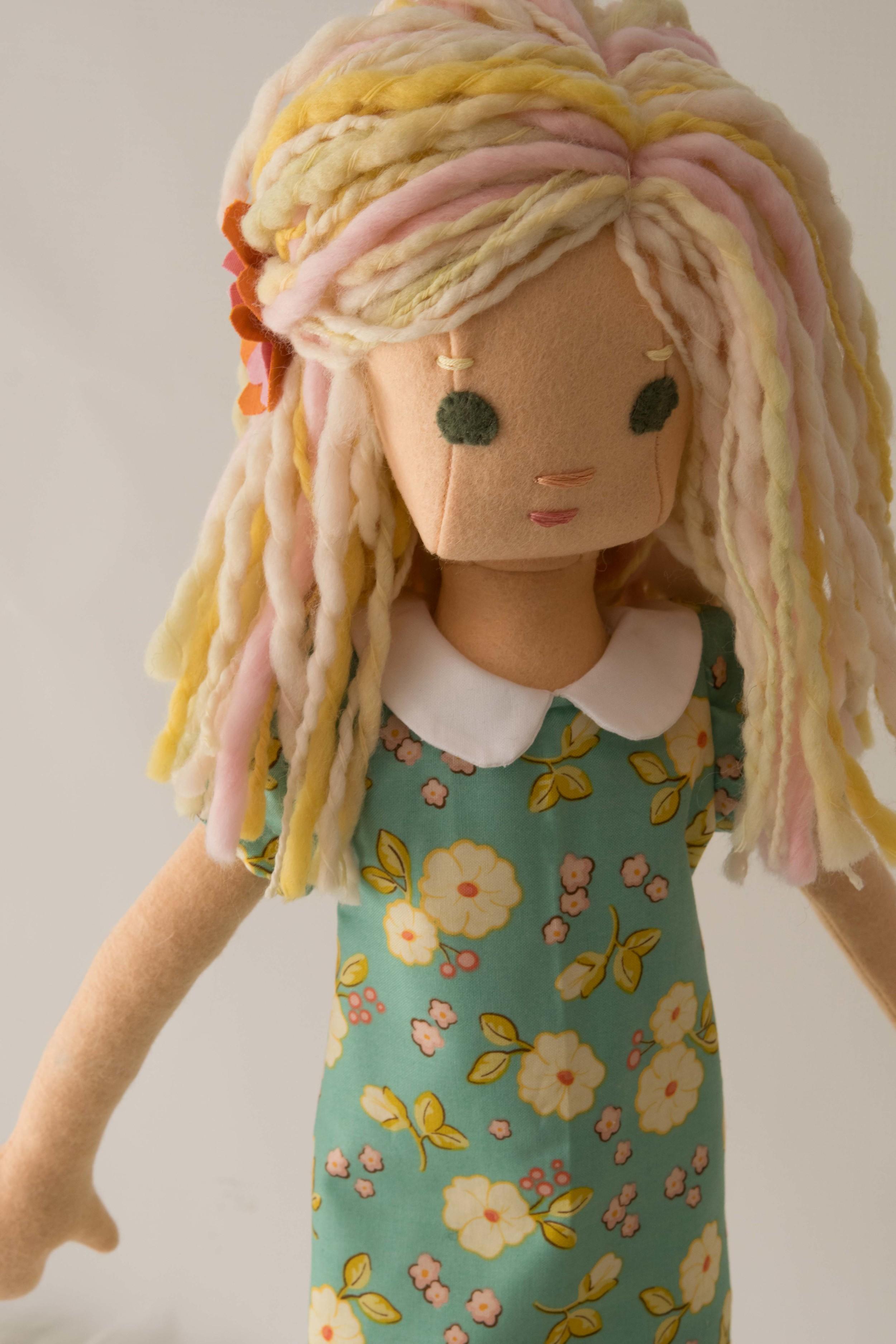 Spring Phoebe doll