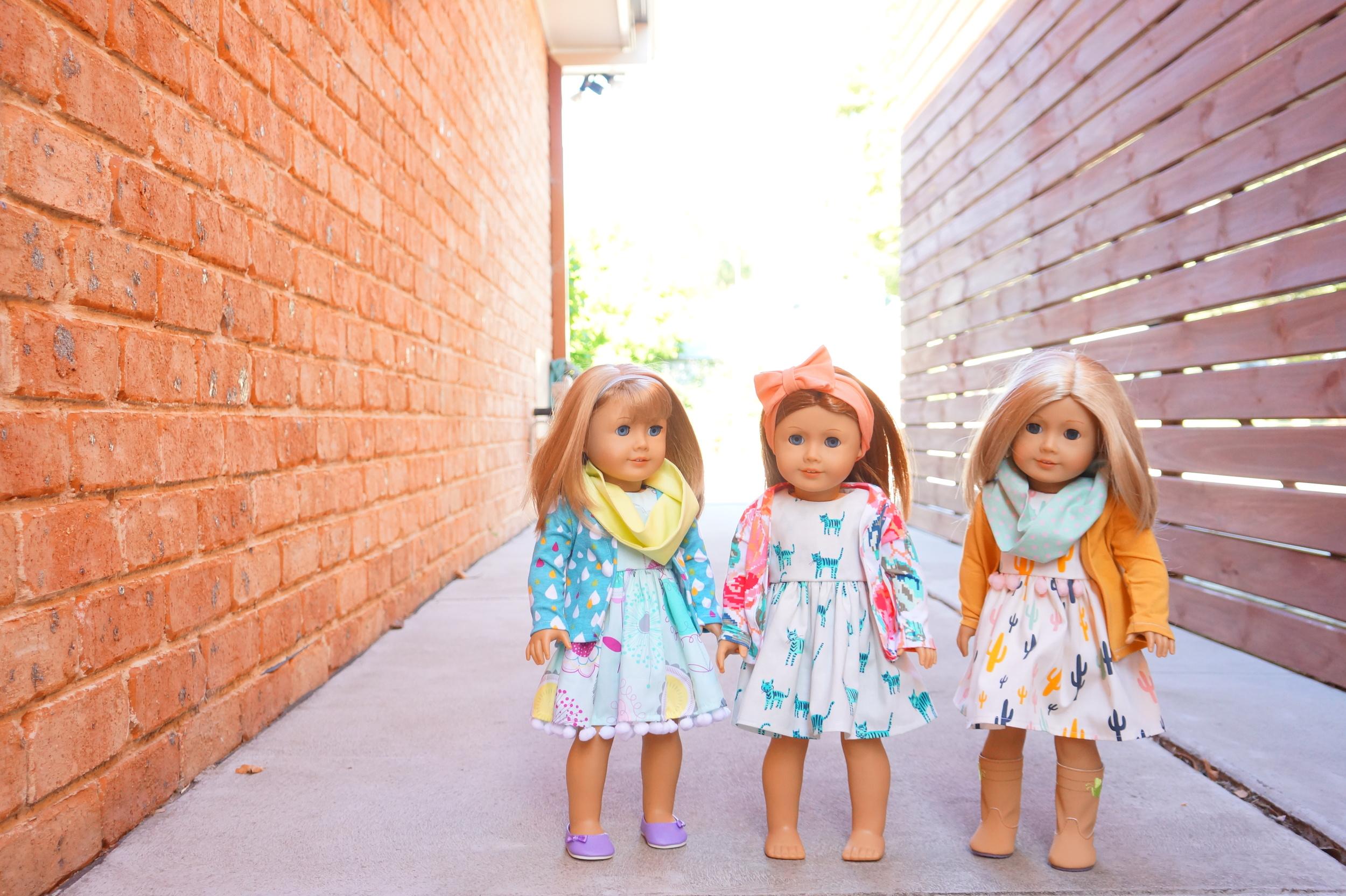 Ally Sews American Girl doll clothing