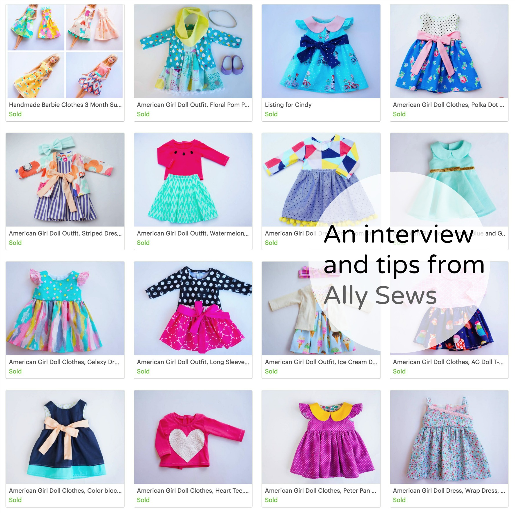 Ally Sews Storefront