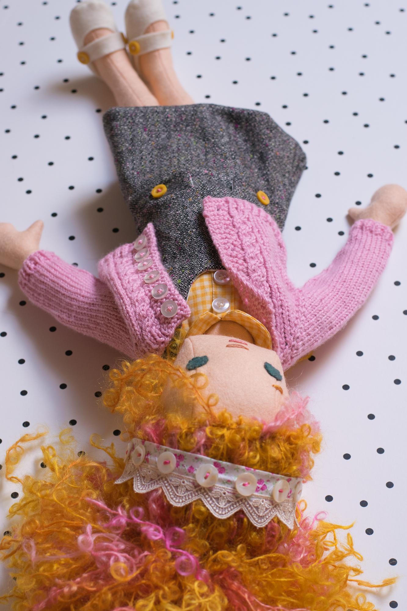 Custom doll ready to go