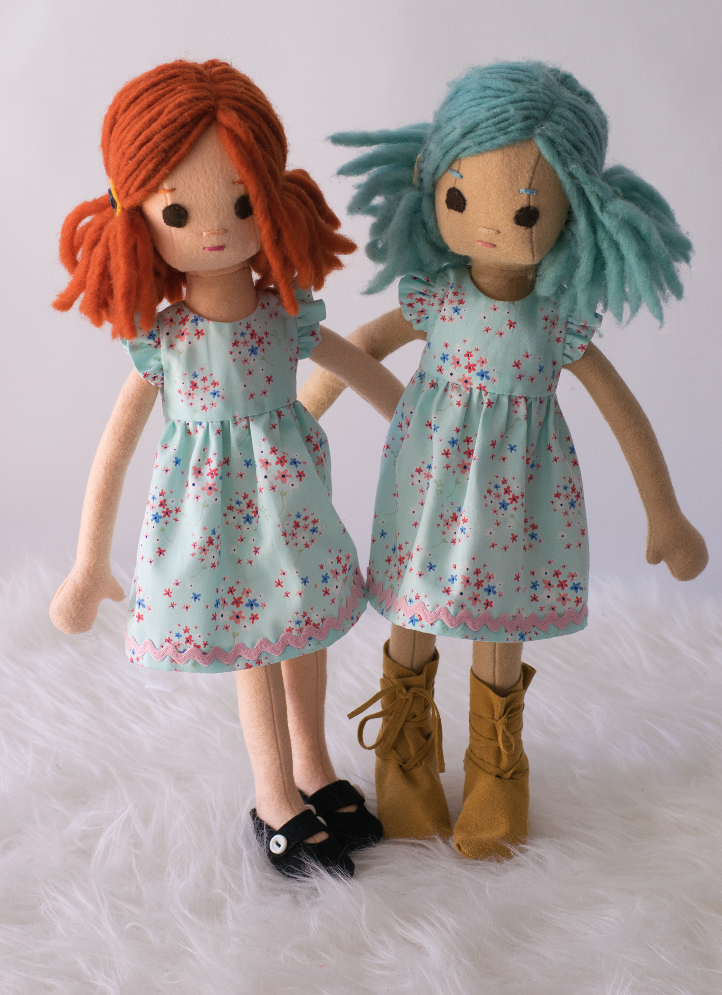 Matching dresses by Maggie
