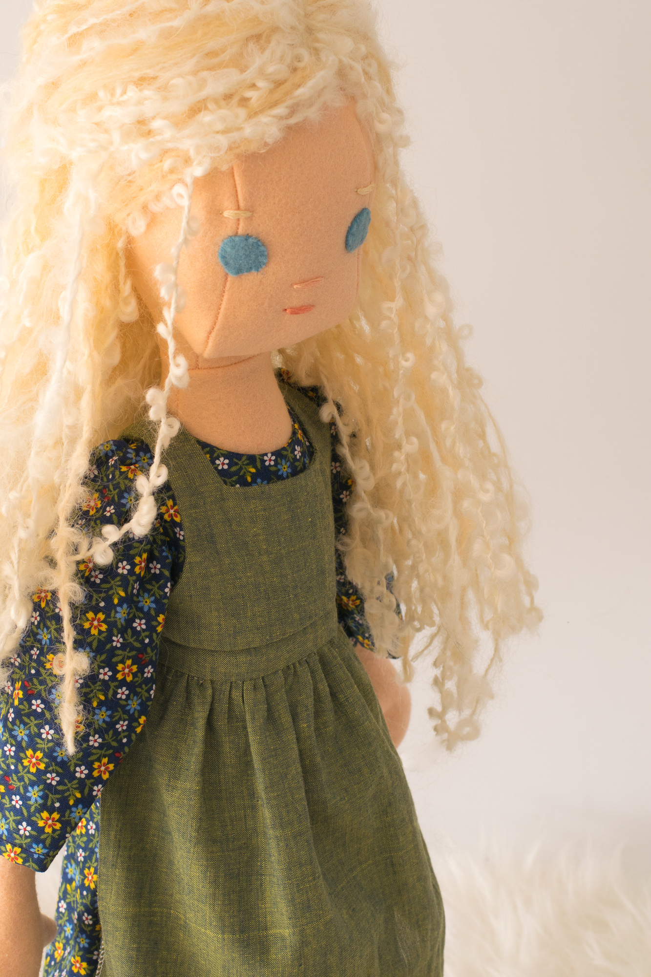 Prairie doll dress