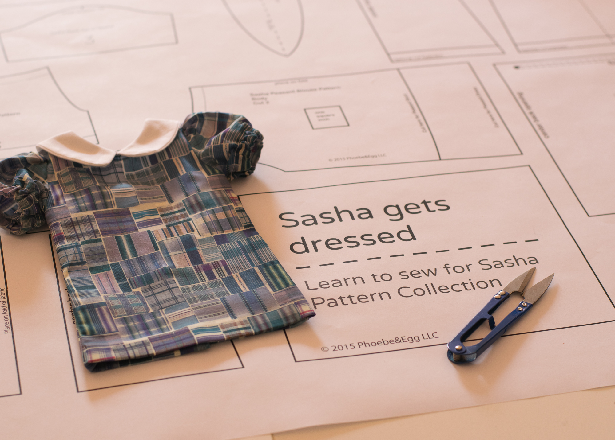 Sasha Doll Learn to Sew