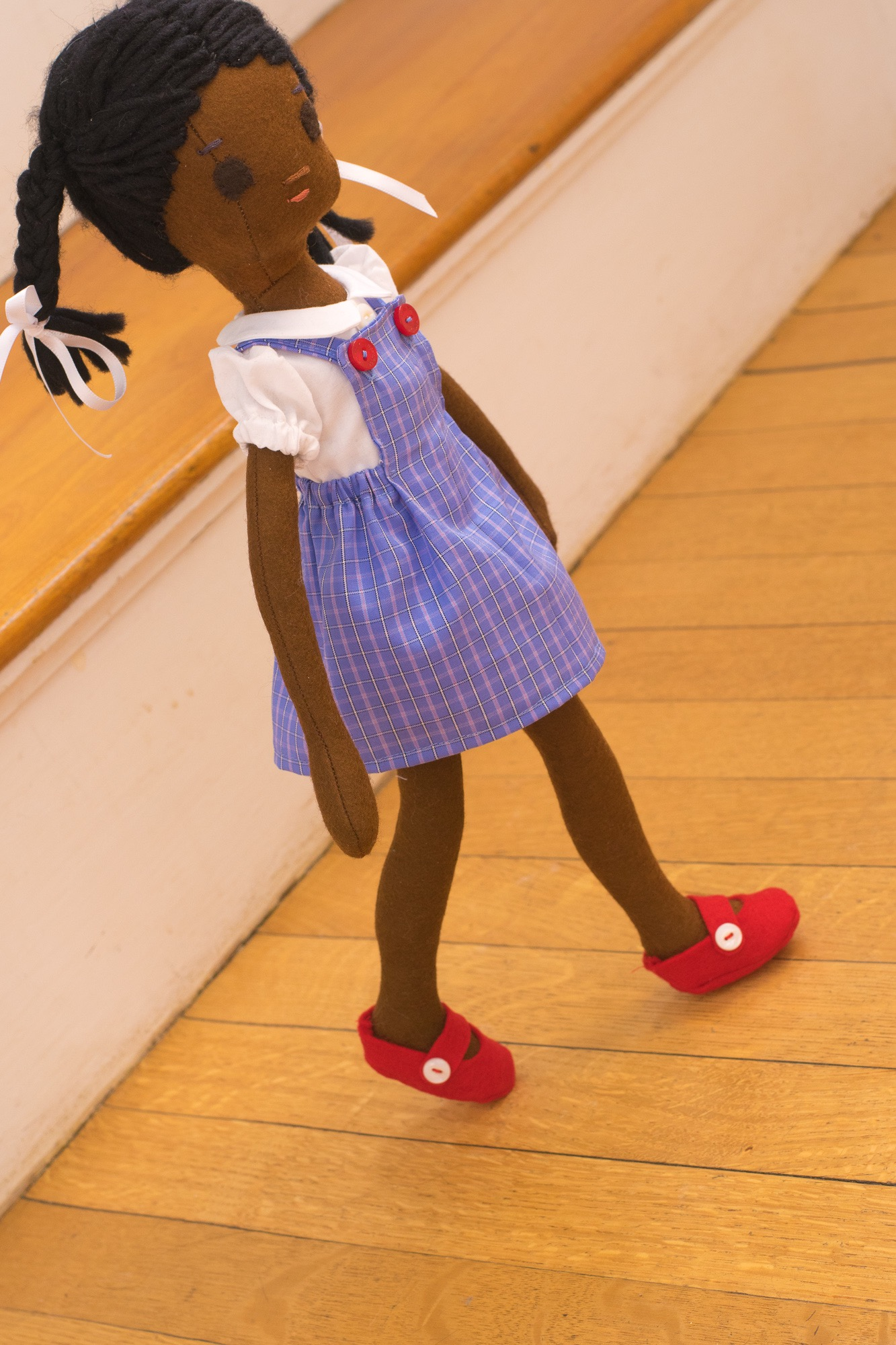 Ruby Bridges, the doll.