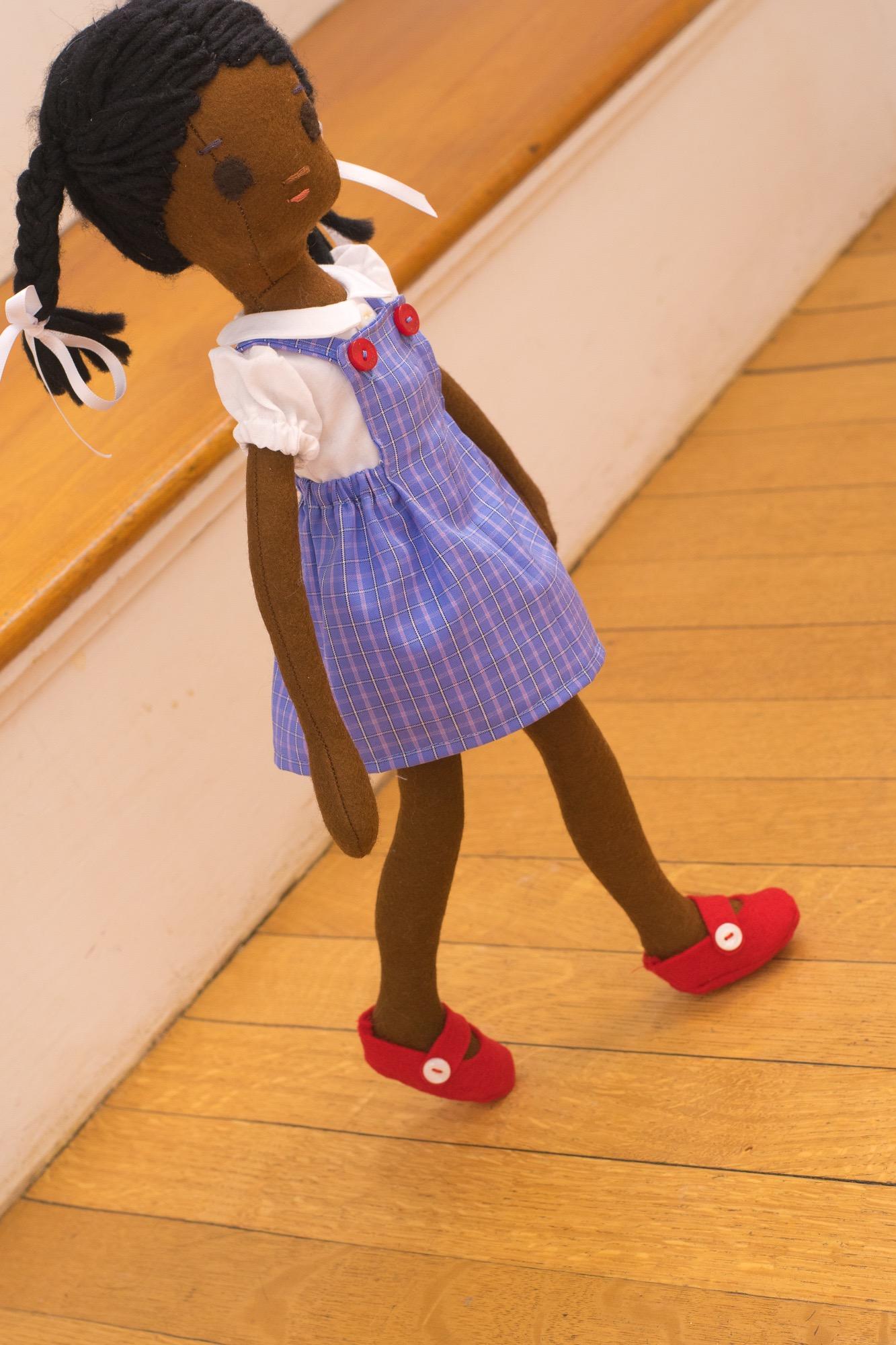 Ruby Bridges, the doll.