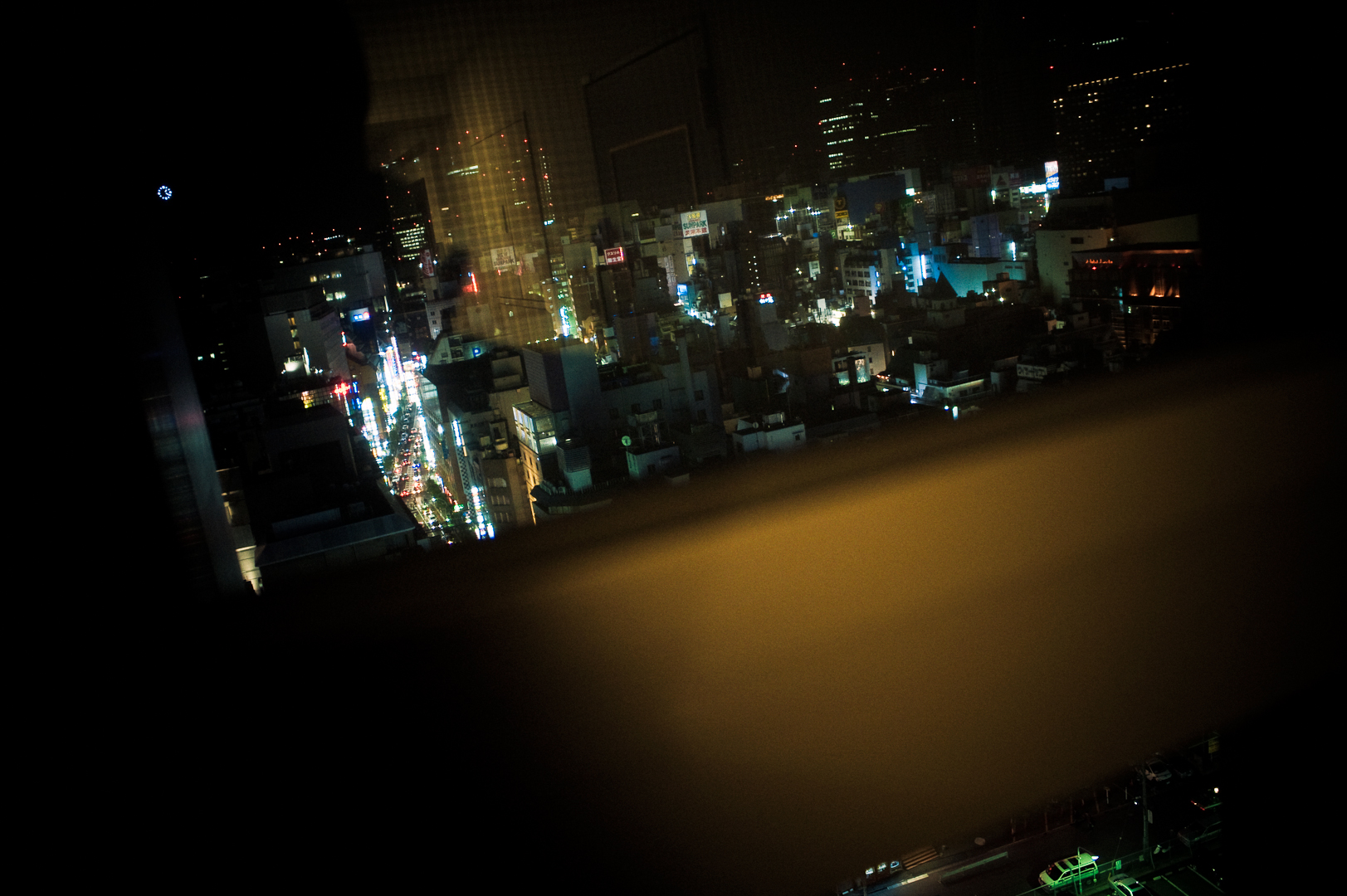 A view of Kabukicho
