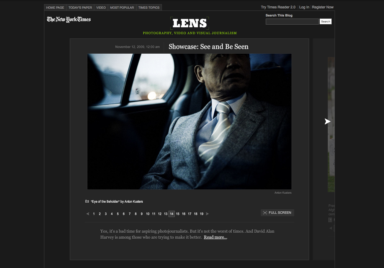 BURN on NYT Lens Blog