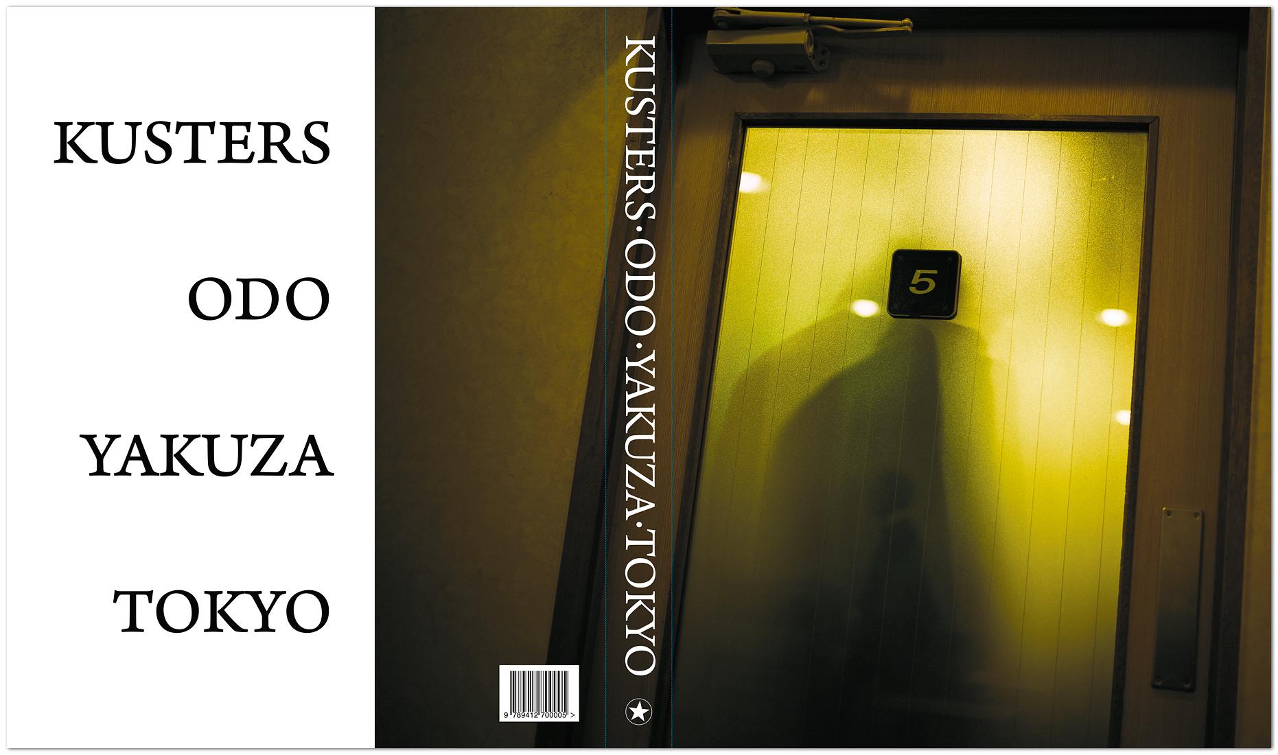 ODO YAKUZA TOKYO - book cover
