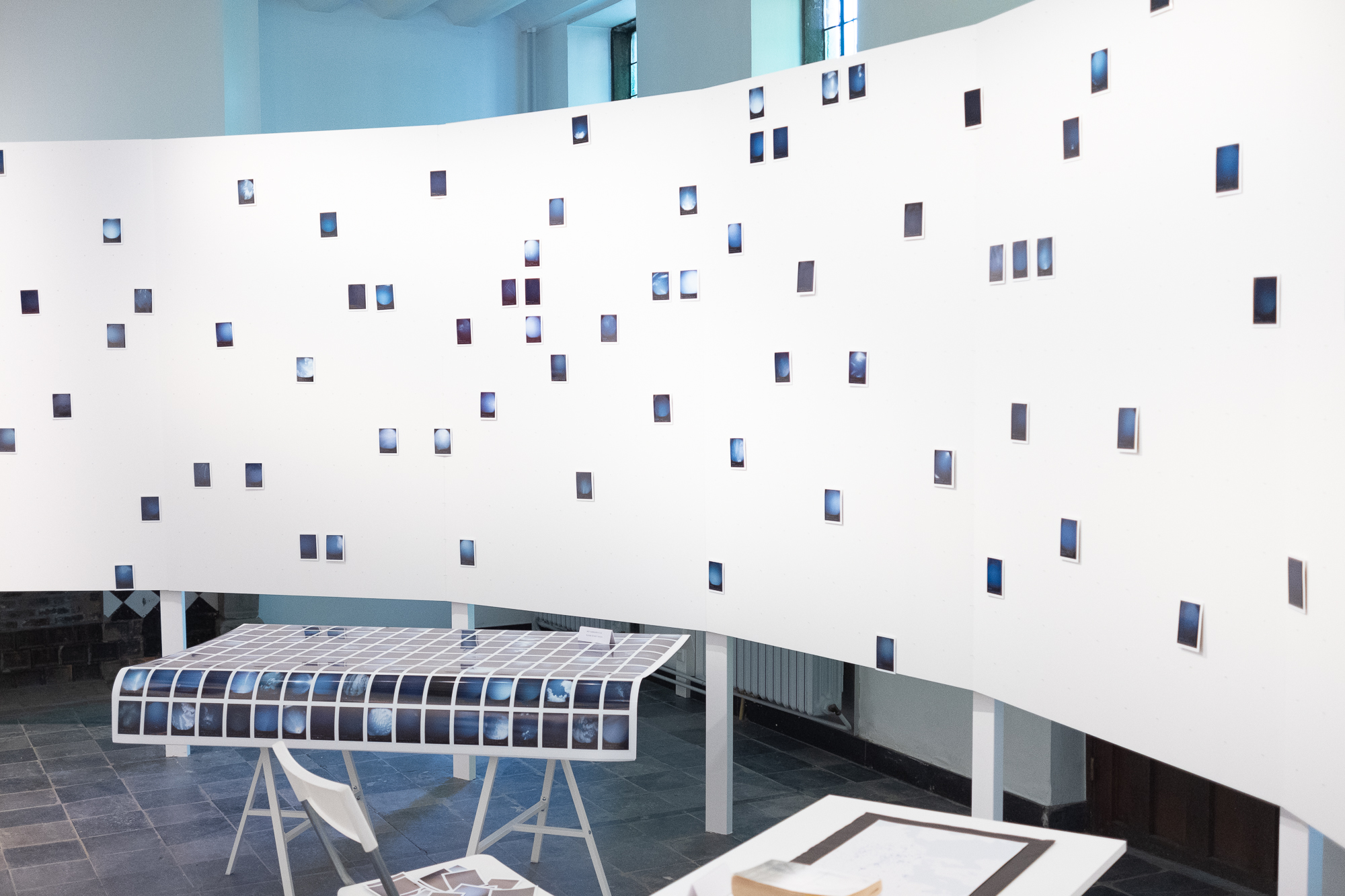 The Blue Skies Project – installatie als work-in-progress in Z33 (2018)