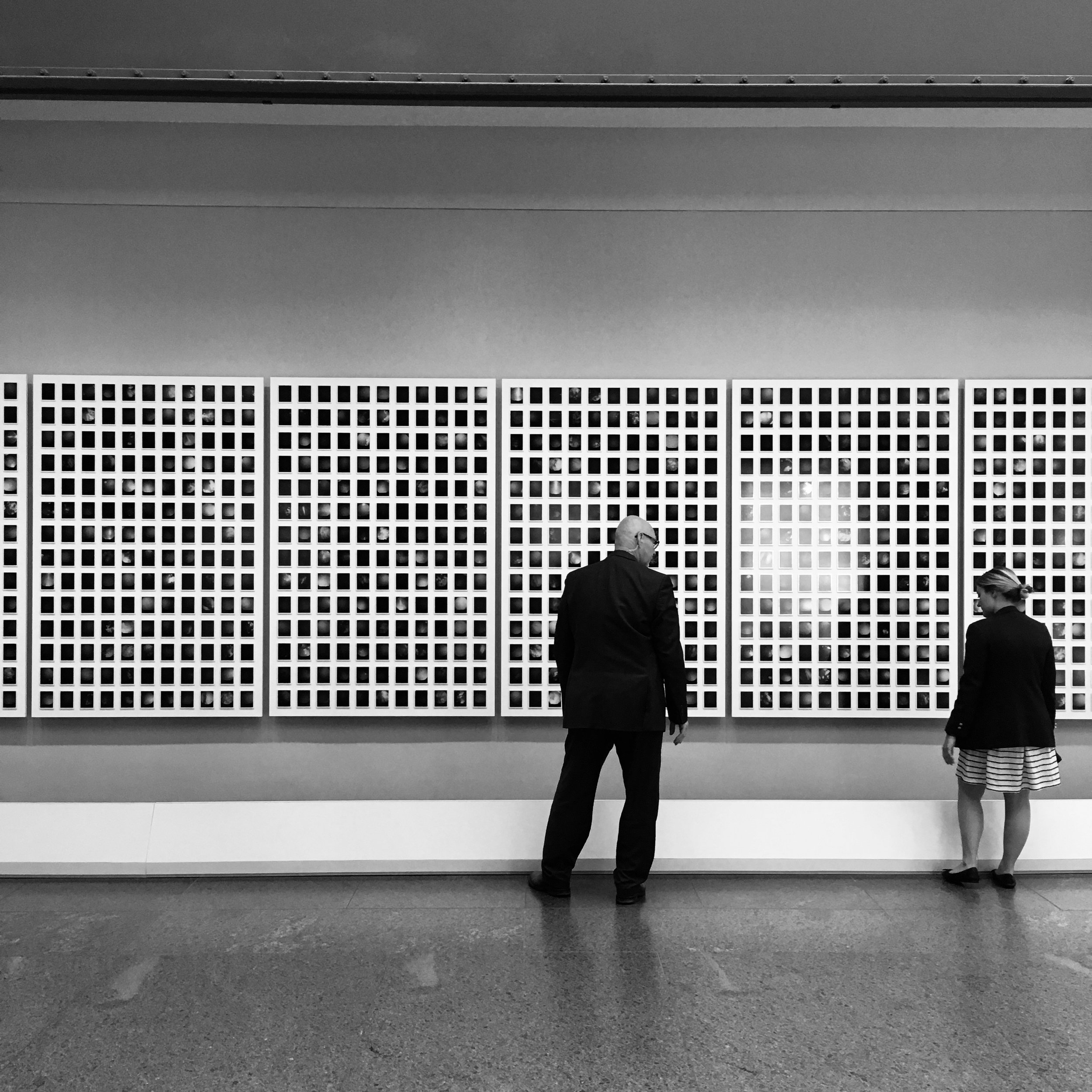 Installation detail – United States Holocaust Memorial Museum (Washington DC)