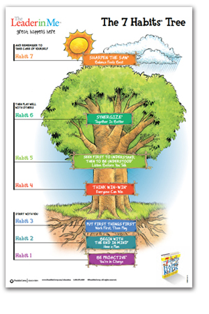 Leader in Me 7 Habits tree