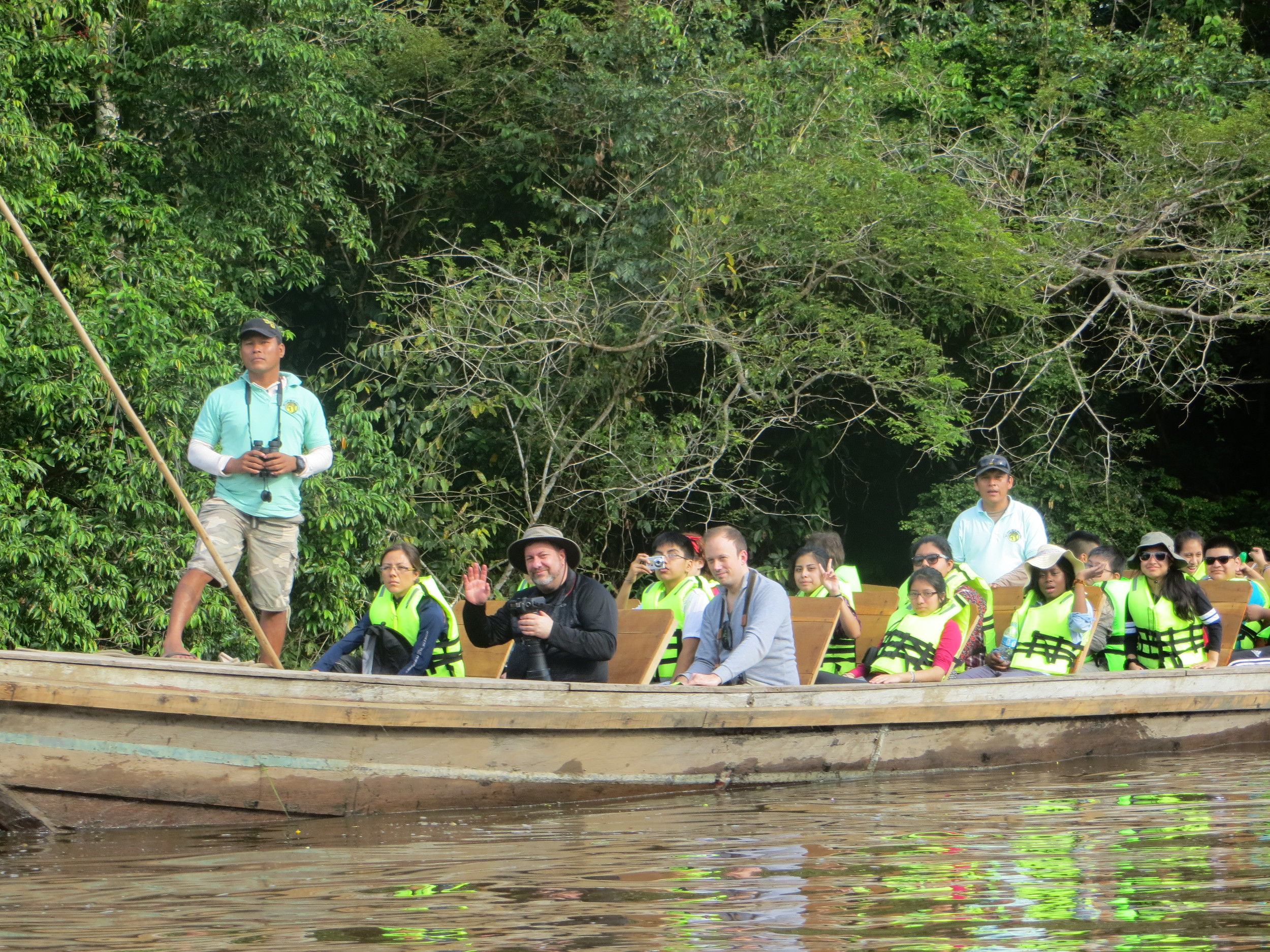 Exploring the biodiversity along the Yarapa River