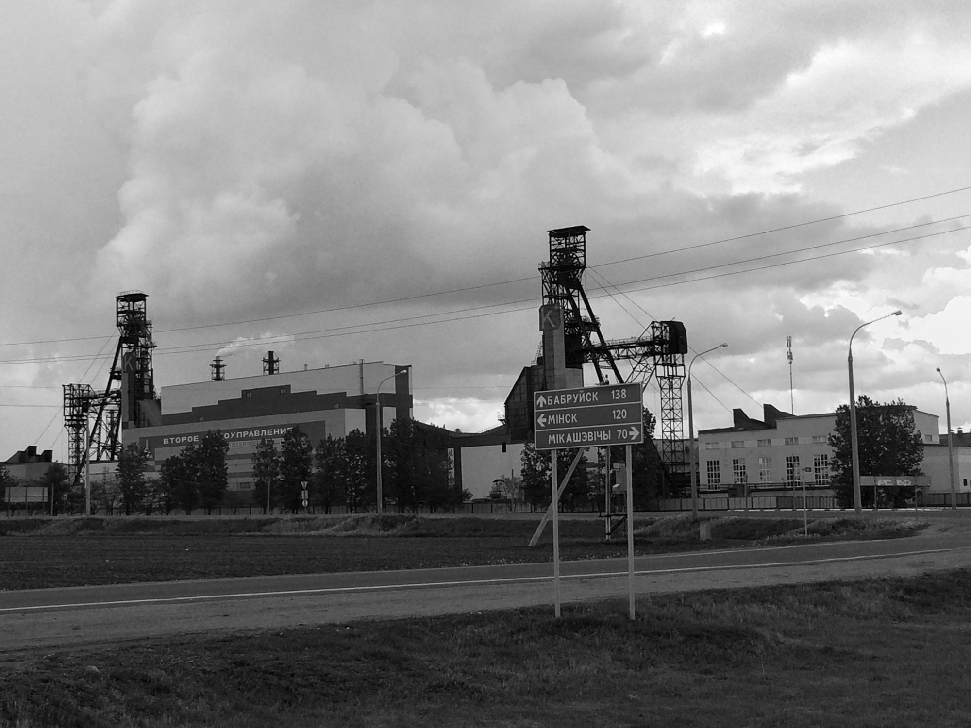 Salihorsk Salt Mines