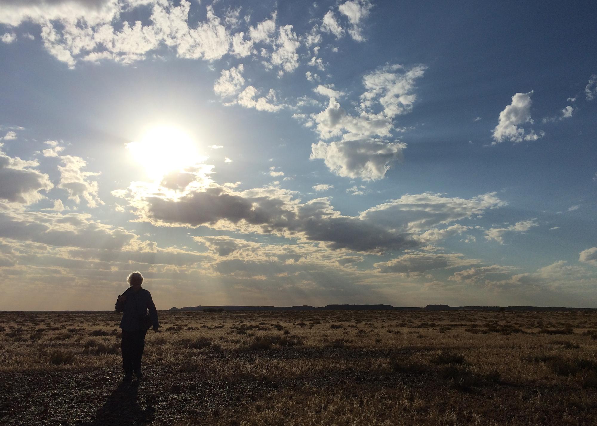Gibber plains near Erldunda