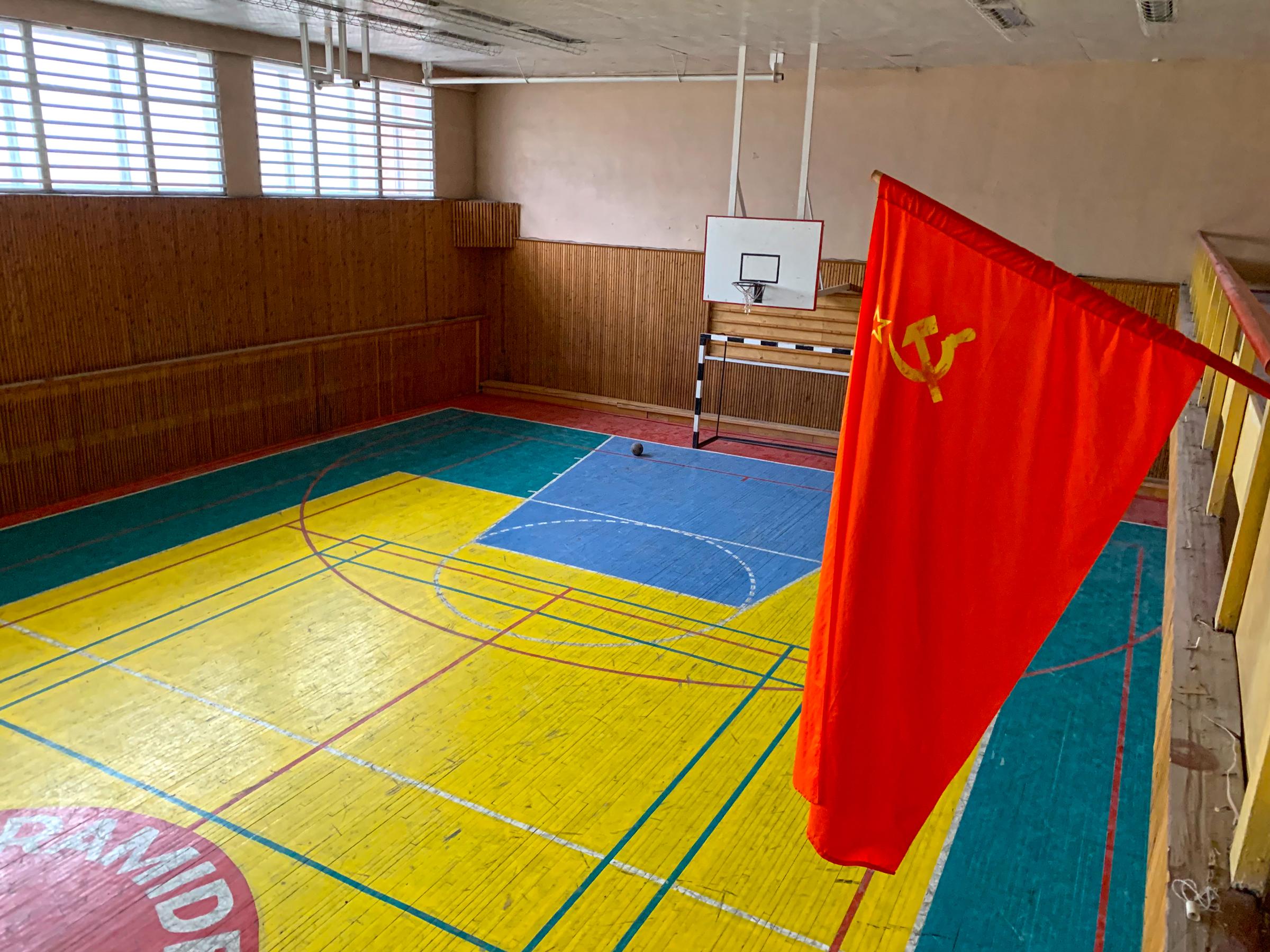 Sports Hall in the Yuri Gagarin Sports Centre (Mike Watson).