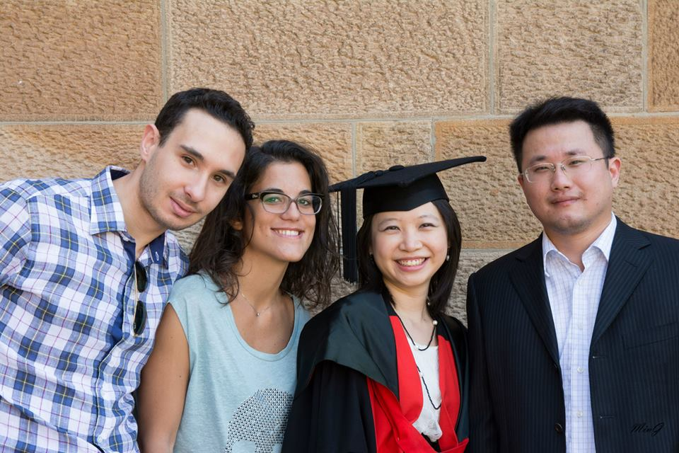 YY, Michele, Mariateresa & Eric