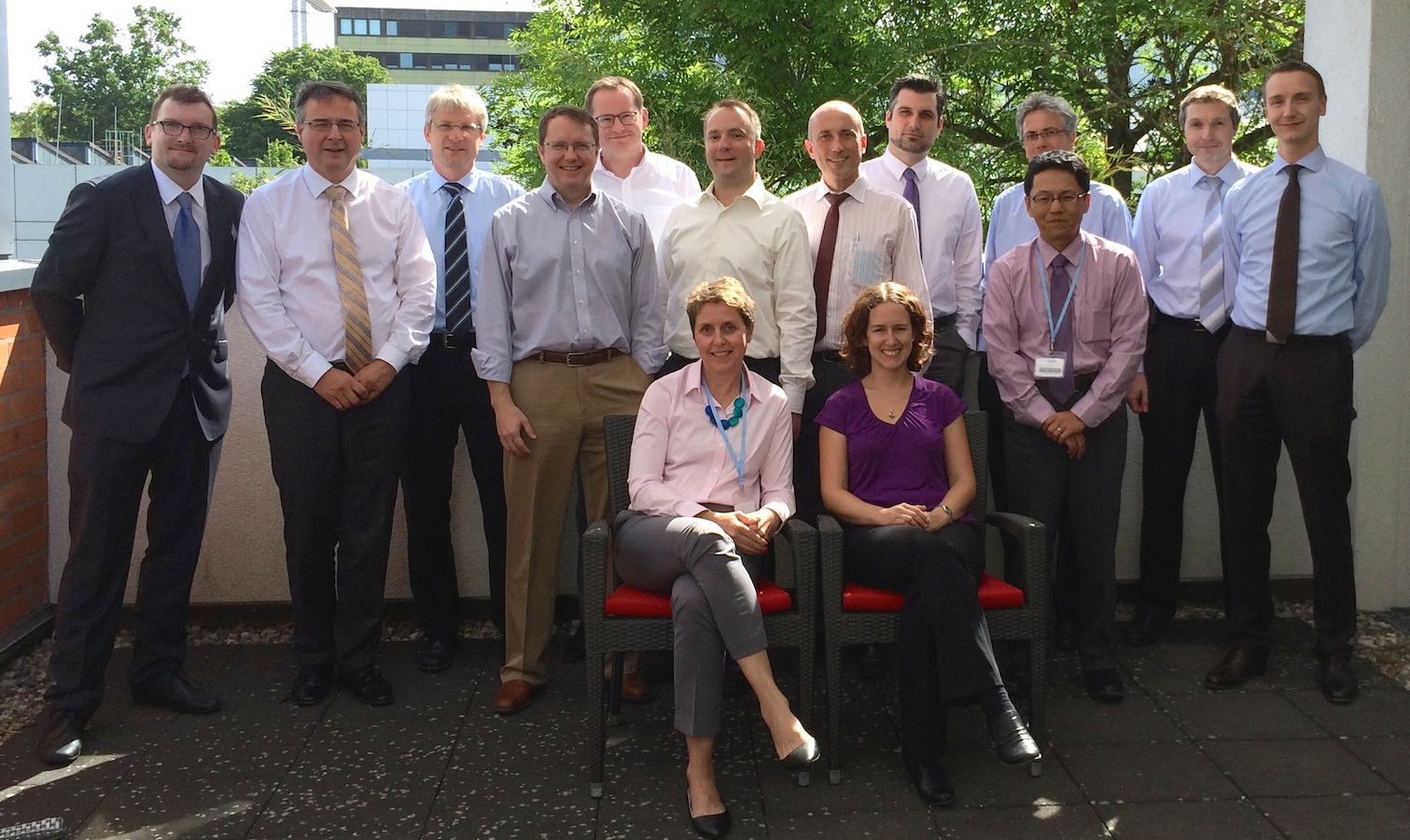 Evonik Woolcock Stratergy meeting and workshop, July 2014