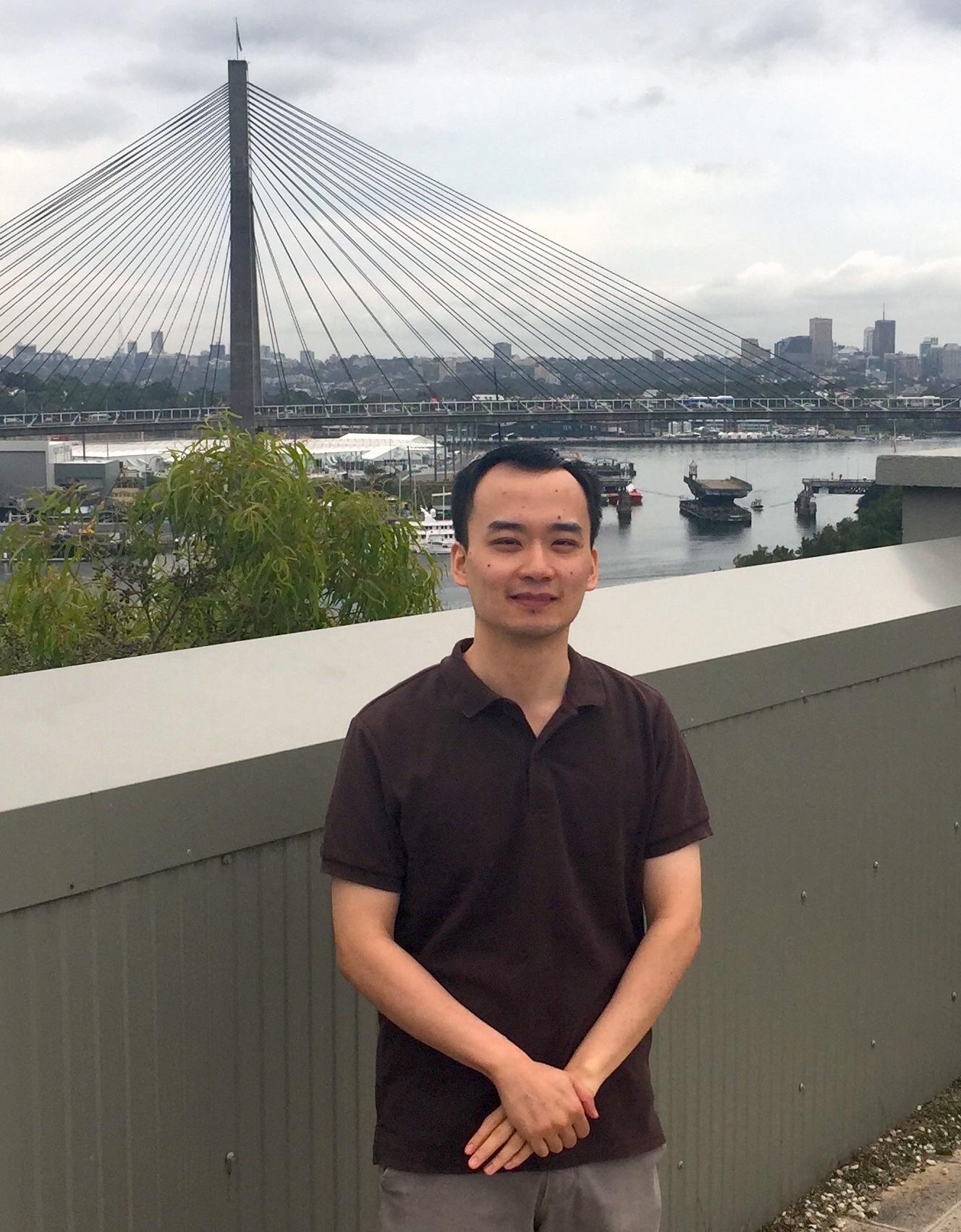 Michael Lau  Postgraduate Researcher