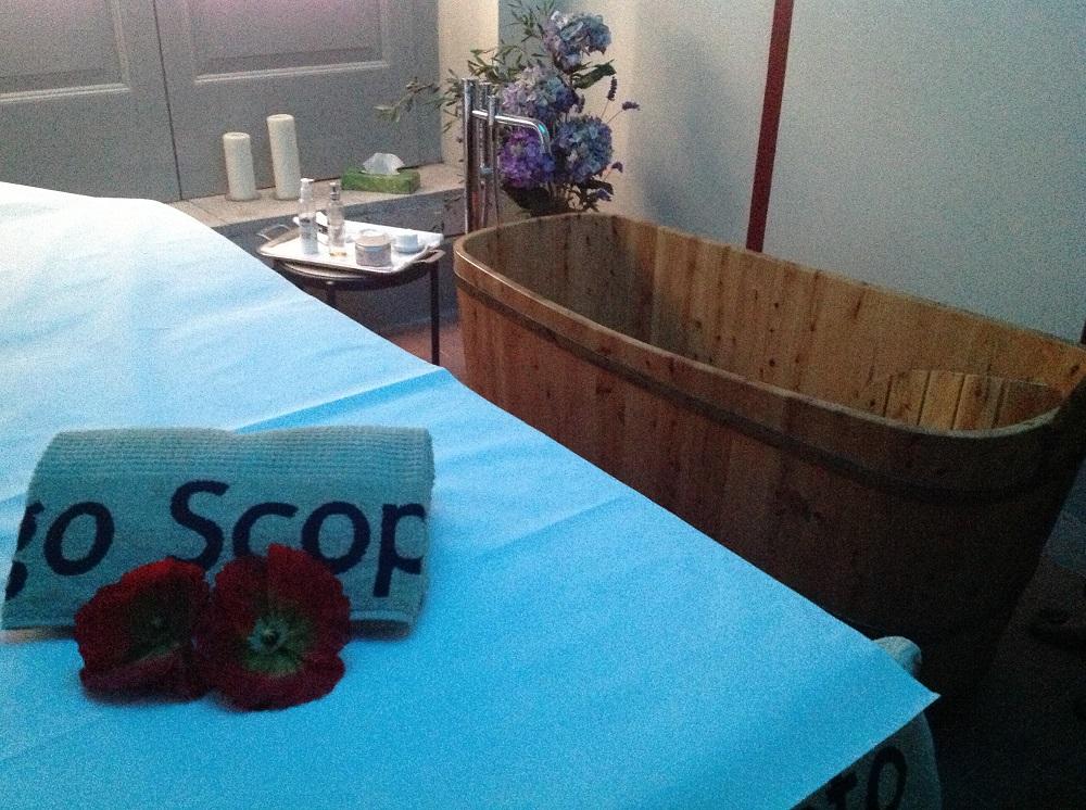 The spa at Borgo Scopeto