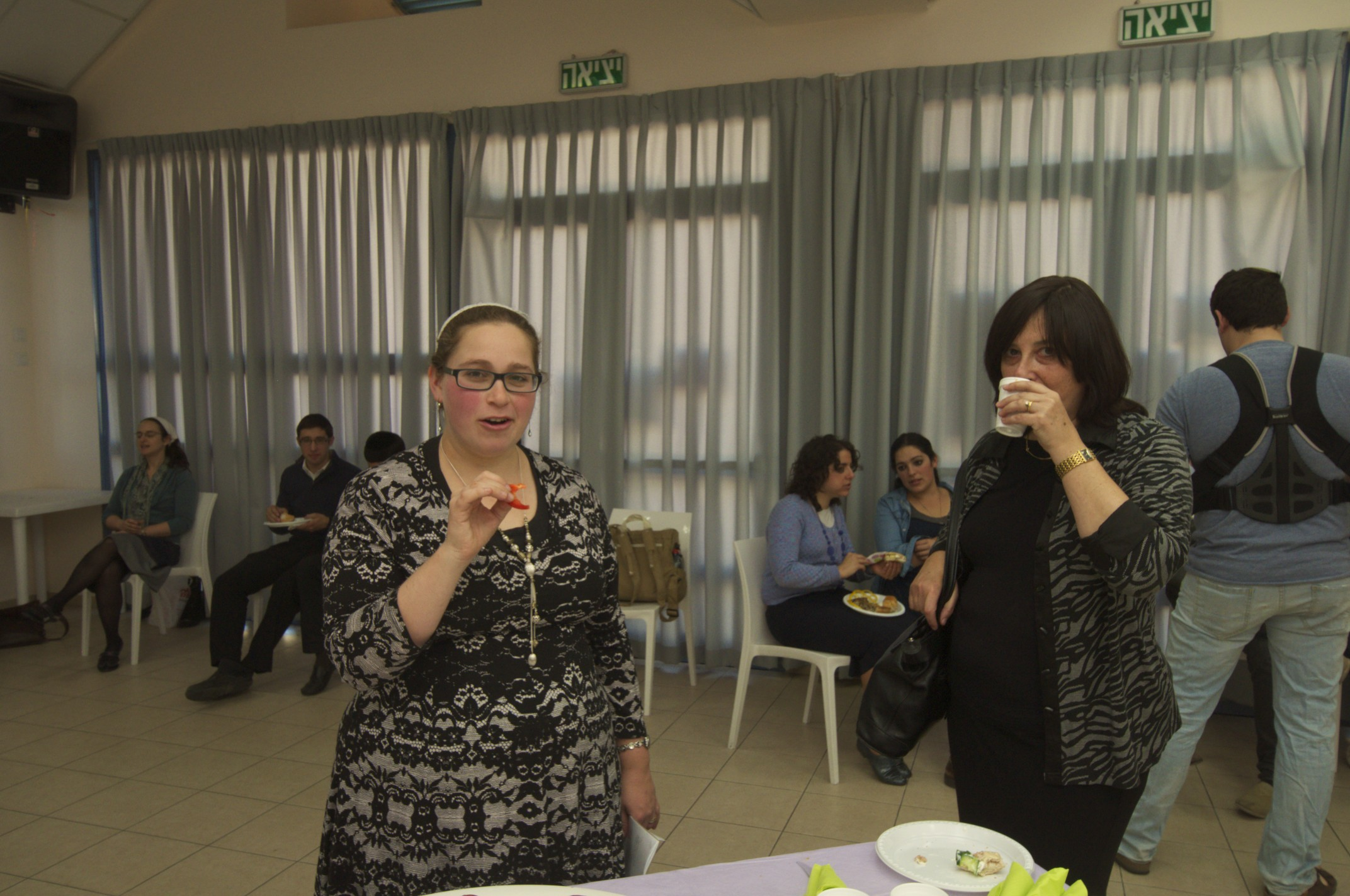 Michal with Ruthie Davis
