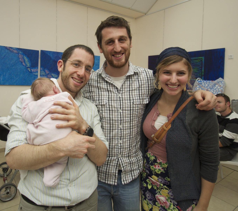 David, Hallel, Shmoike and Dina