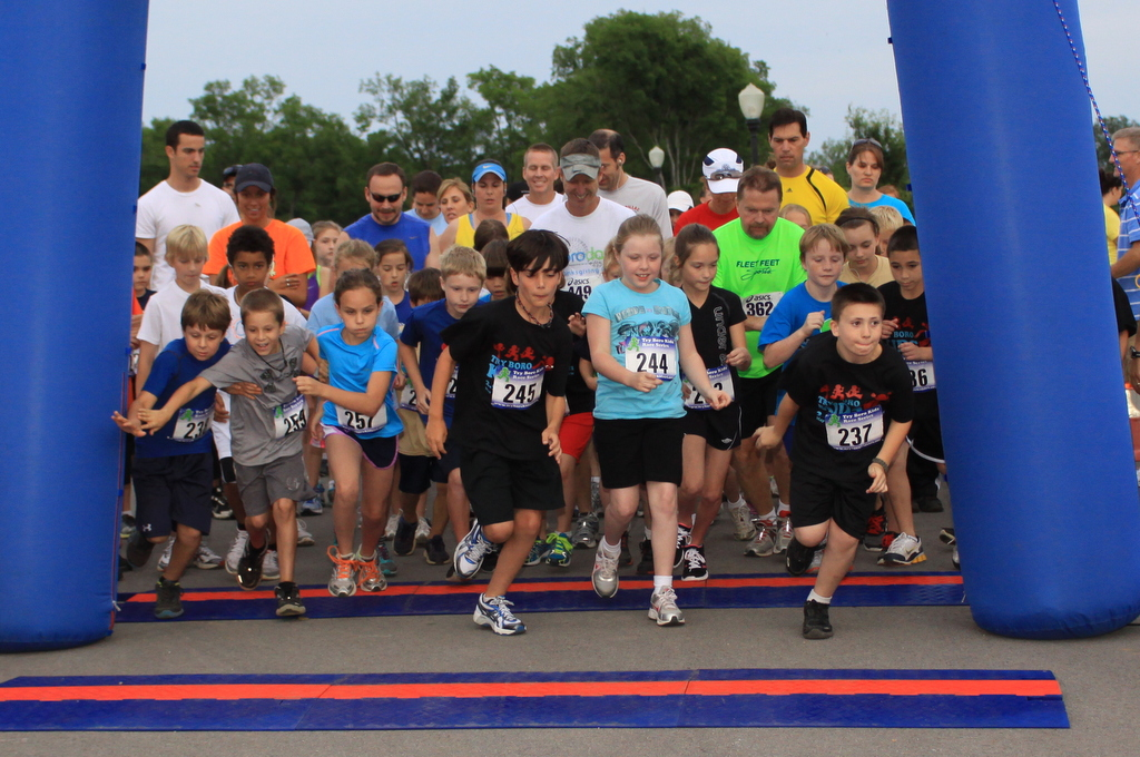 2012 Try Boro Kids 2.5K Start
