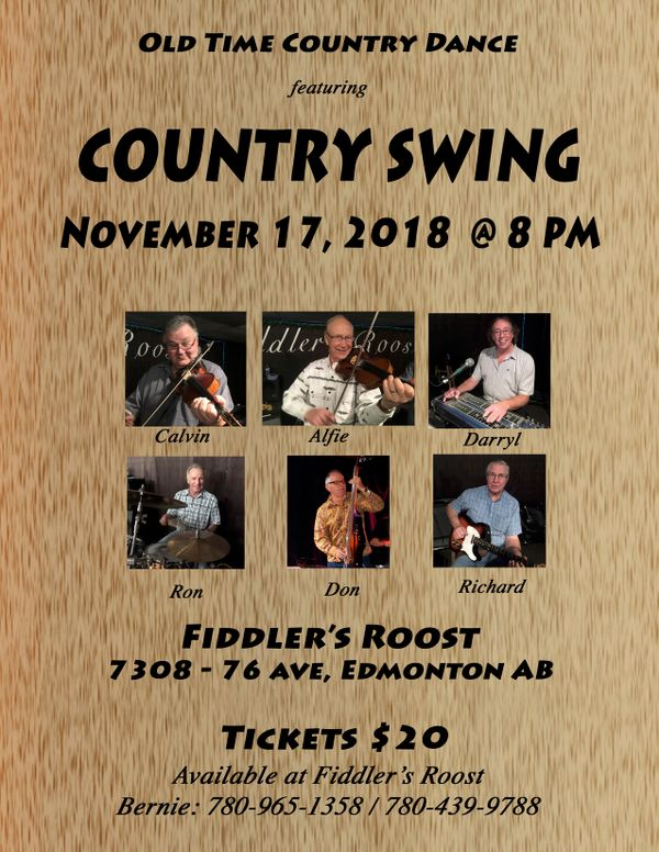 Fiddler's Roost - Country Swing