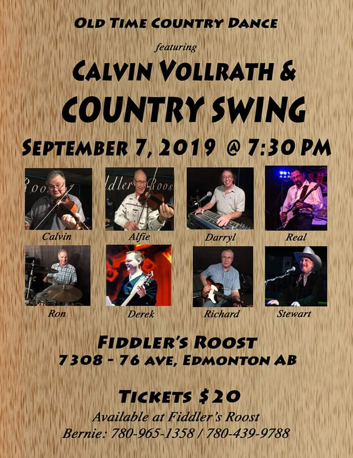 Fiddler's Roost - Calvin Vollrath & Country Swing