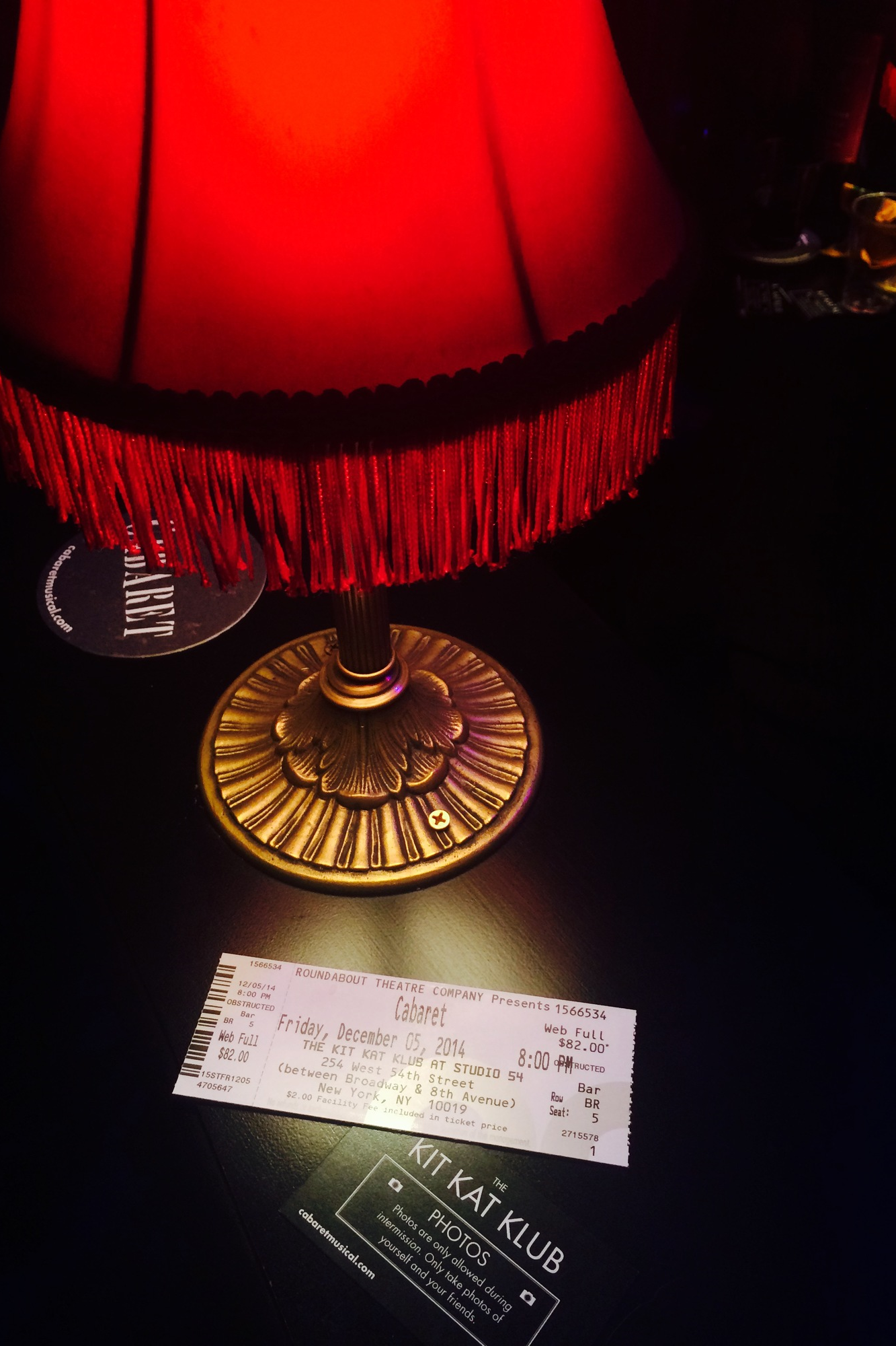 Cabaret with Emma Stone and Alan Cumming was incredible.  Go see it.
