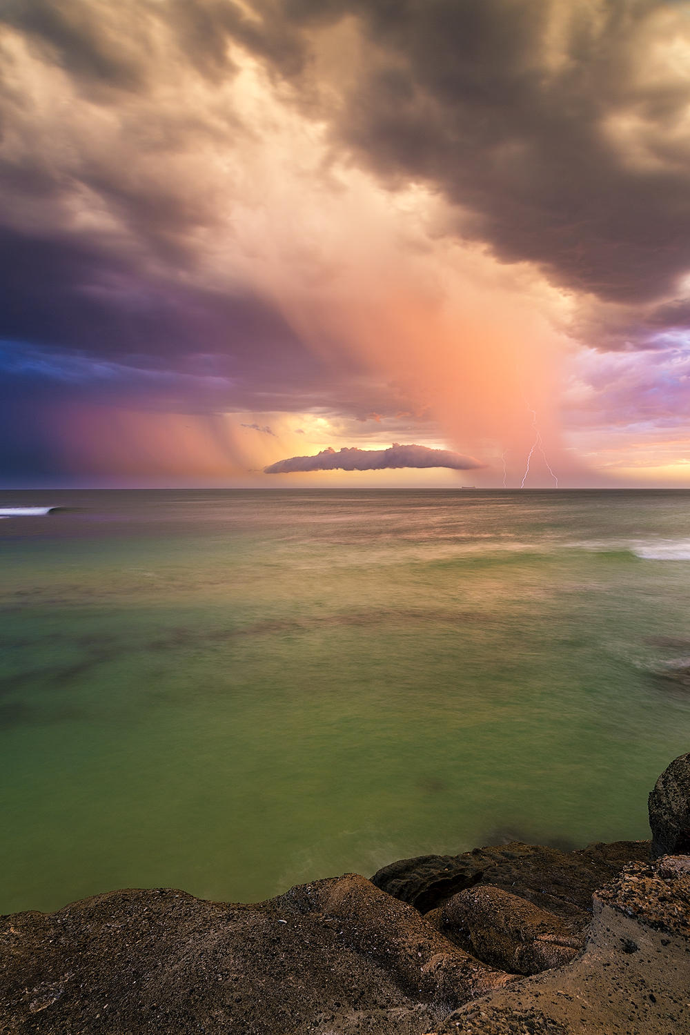 Soldiers Beach Storm
